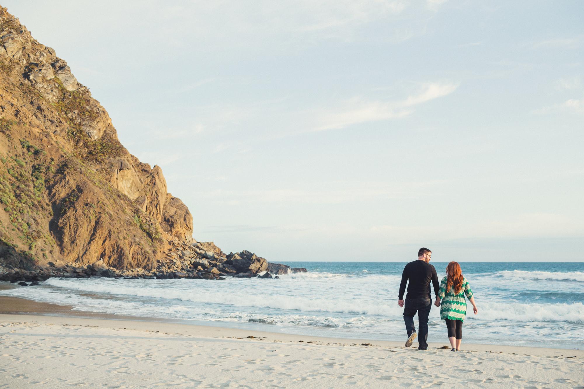 Engagement photos in Big Sur @Anne-Claire Brun 0014