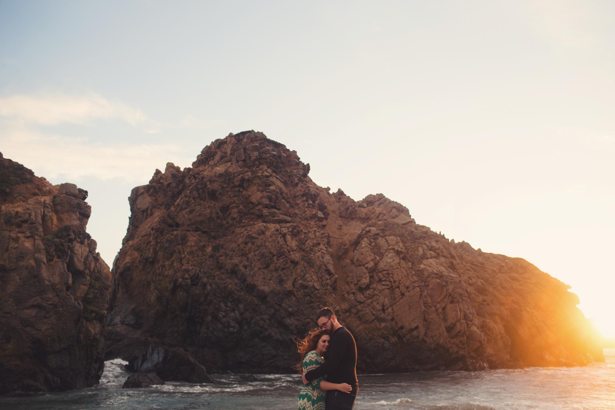 Big Sur couple photos Anne-Claire Brun