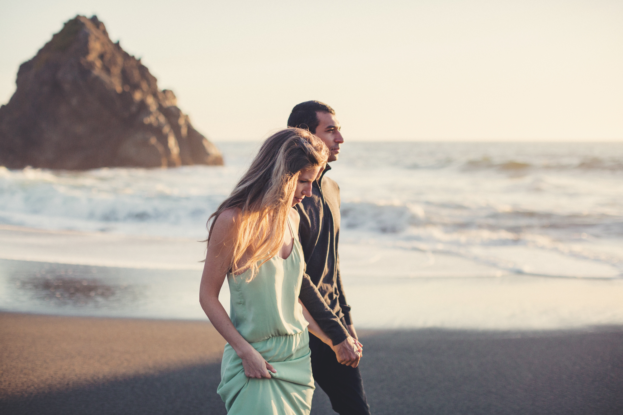 Beach Engagement Photos @ Anne-Claire Brun-0087