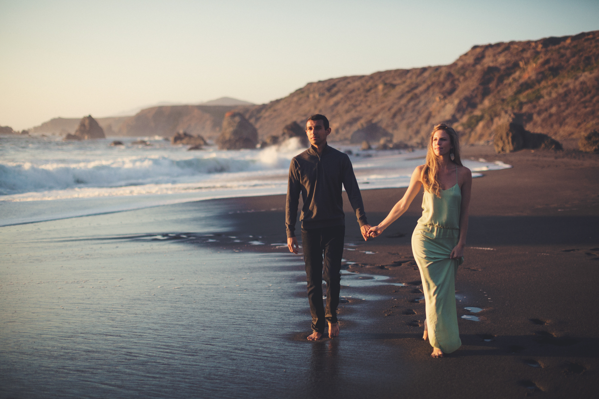 Beach Engagement Photos @ Anne-Claire Brun-0100