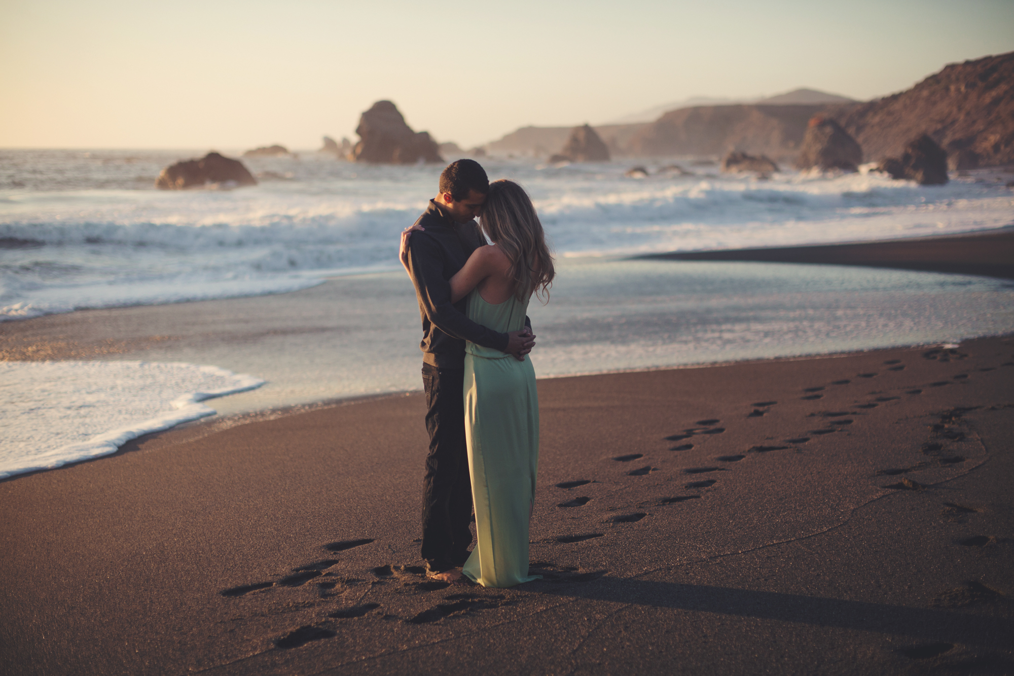 Beach Engagement Photos @ Anne-Claire Brun-0105