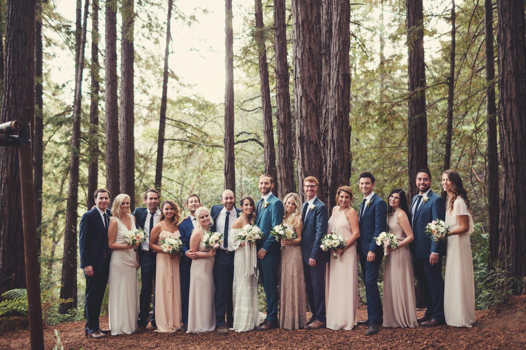 Sequoia Retreat Center Wedding@Anne-Claire Brun 141