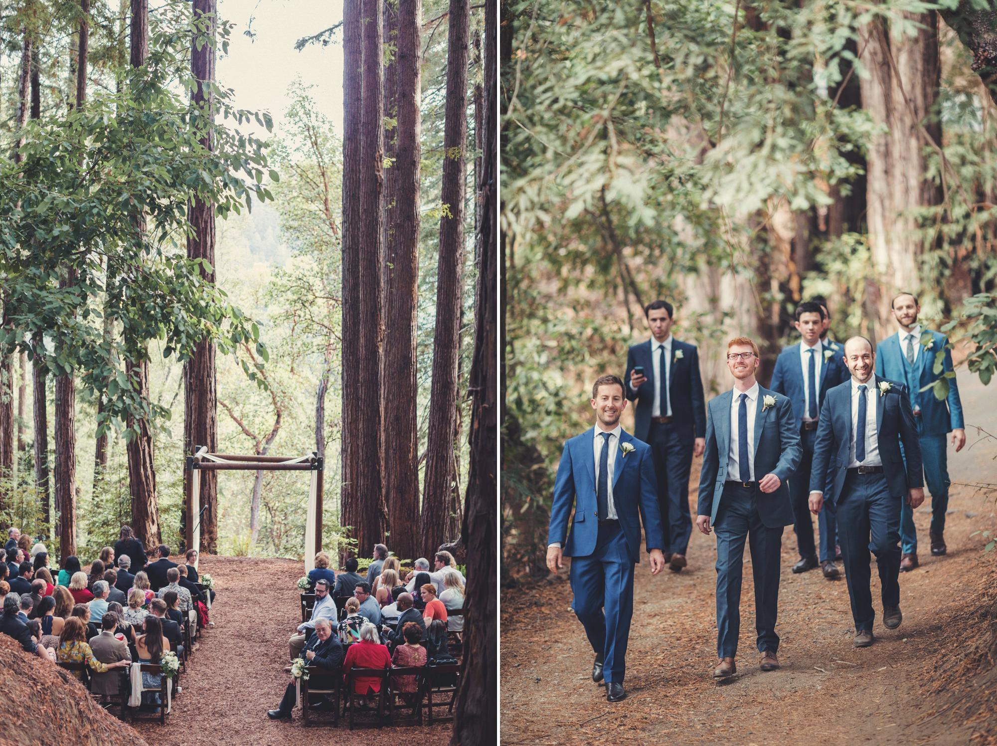 Sequoia Retreat Center Wedding@Anne-Claire Brun 48