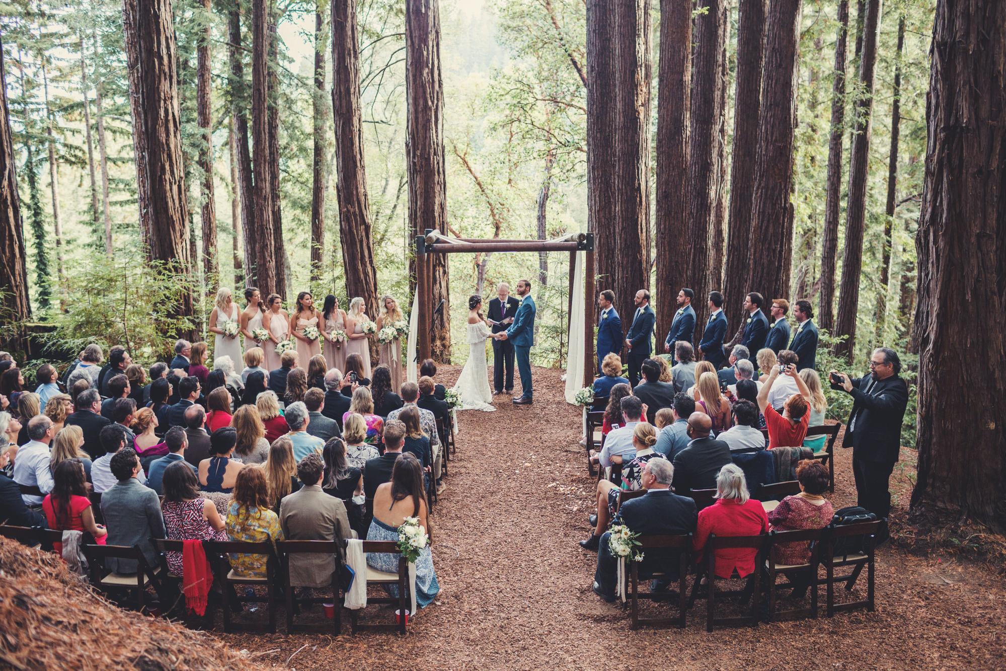 Sequoia Retreat Center Wedding@Anne-Claire Brun 73