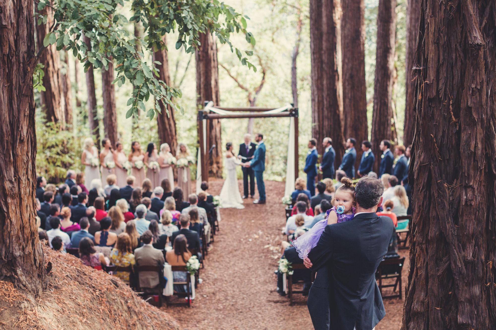 Sequoia Retreat Center Wedding@Anne-Claire Brun 77