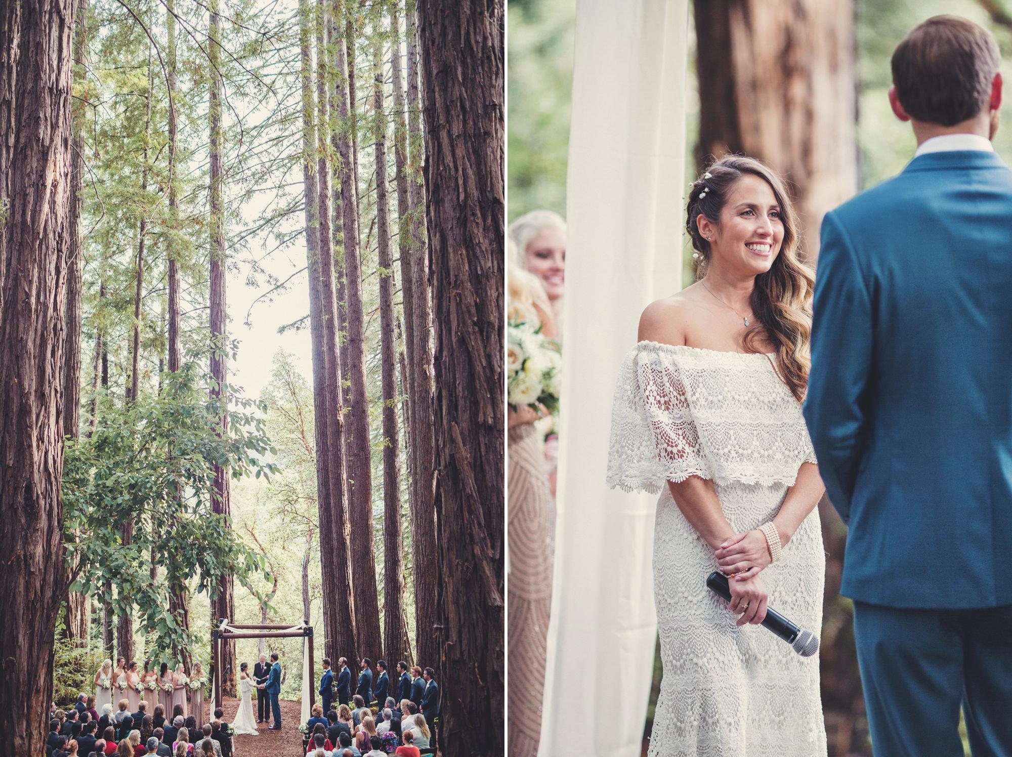 Sequoia Retreat Center Wedding@Anne-Claire Brun 78