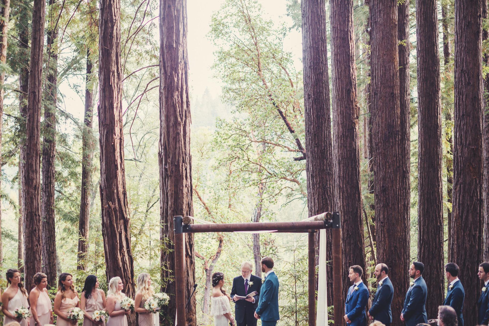 Sequoia Retreat Center Wedding@Anne-Claire Brun 87