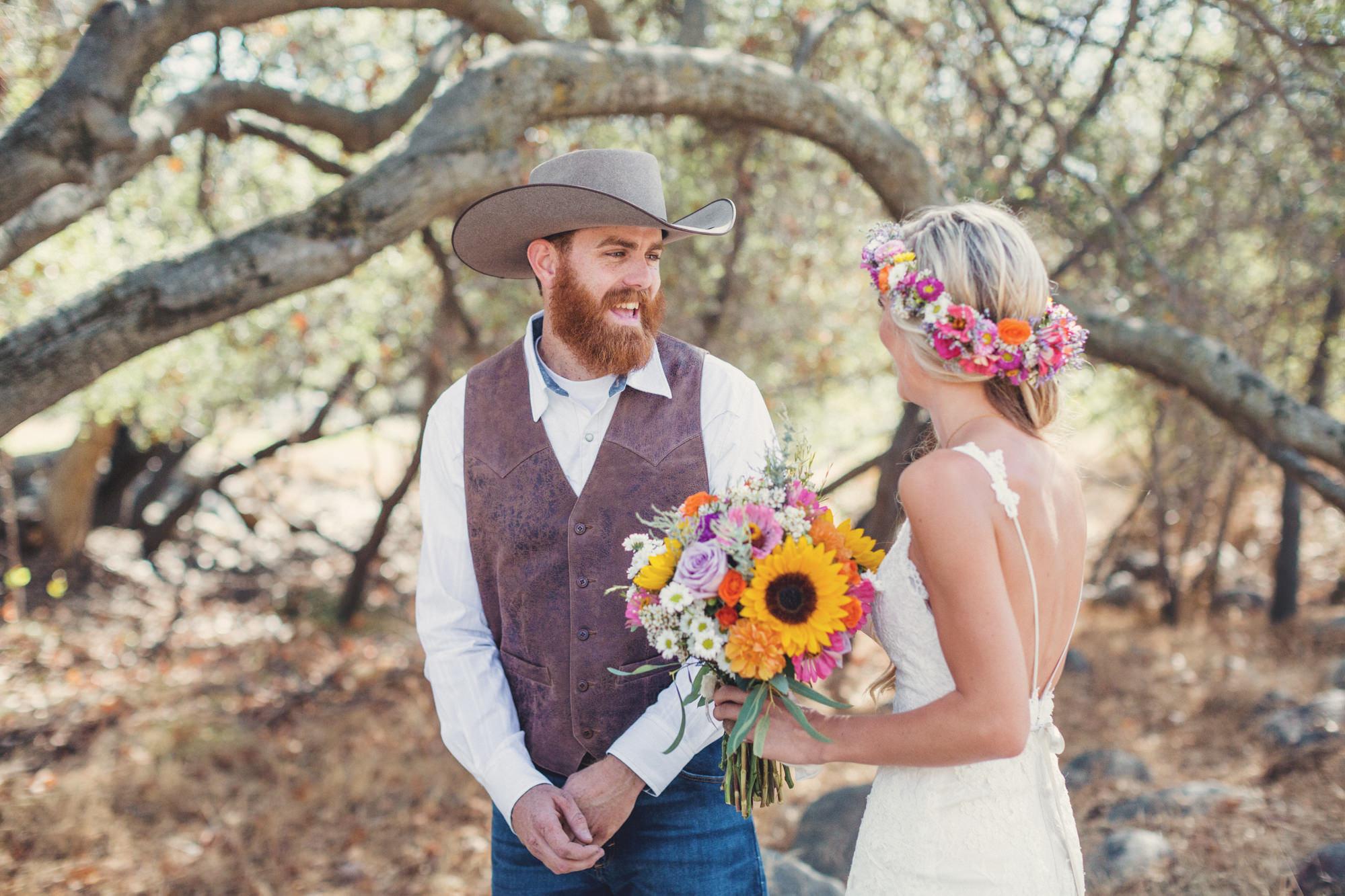 Rustic wedding in California ©Anne-Claire Brun 37