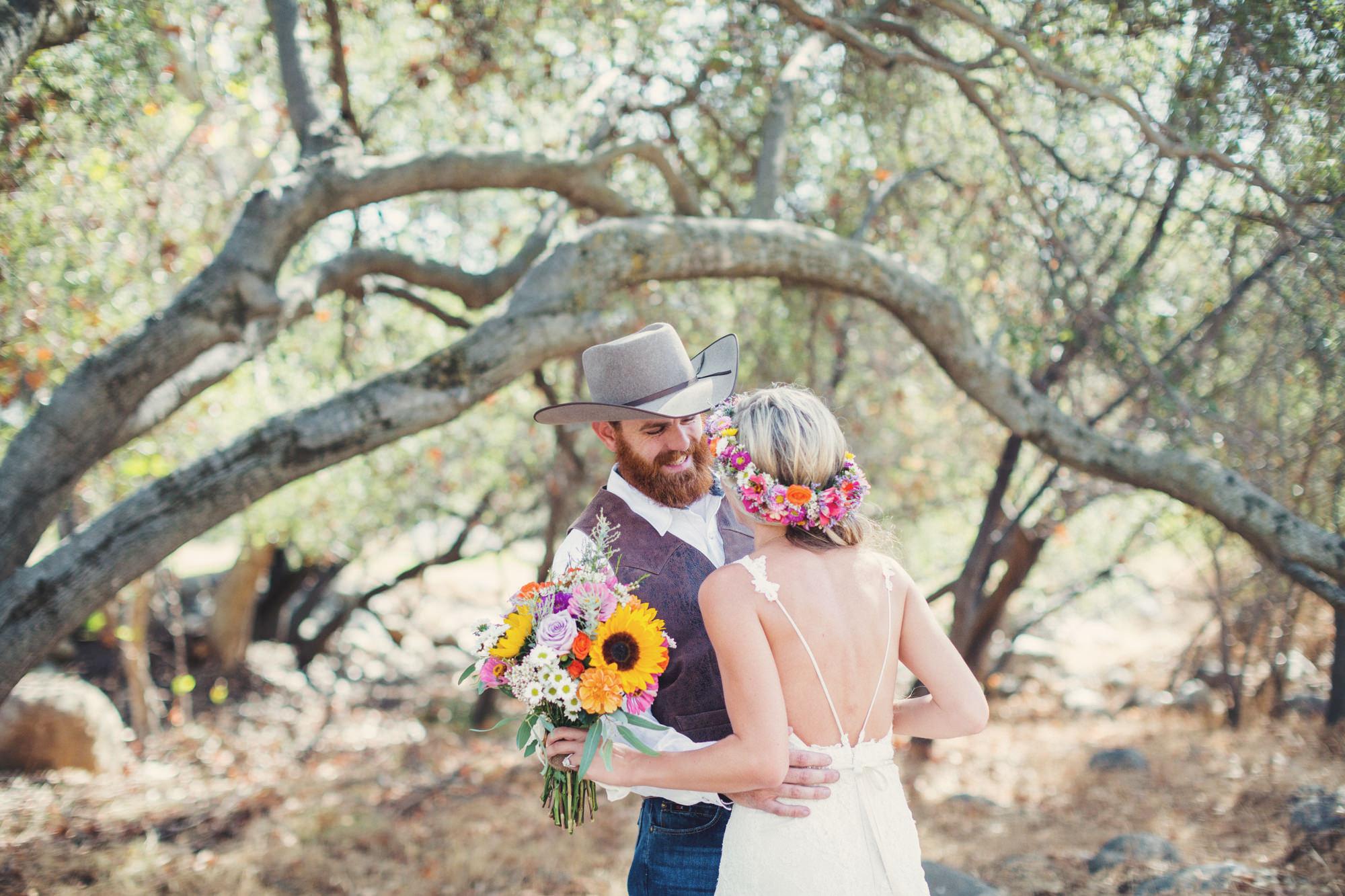 Rustic wedding in California ©Anne-Claire Brun 40