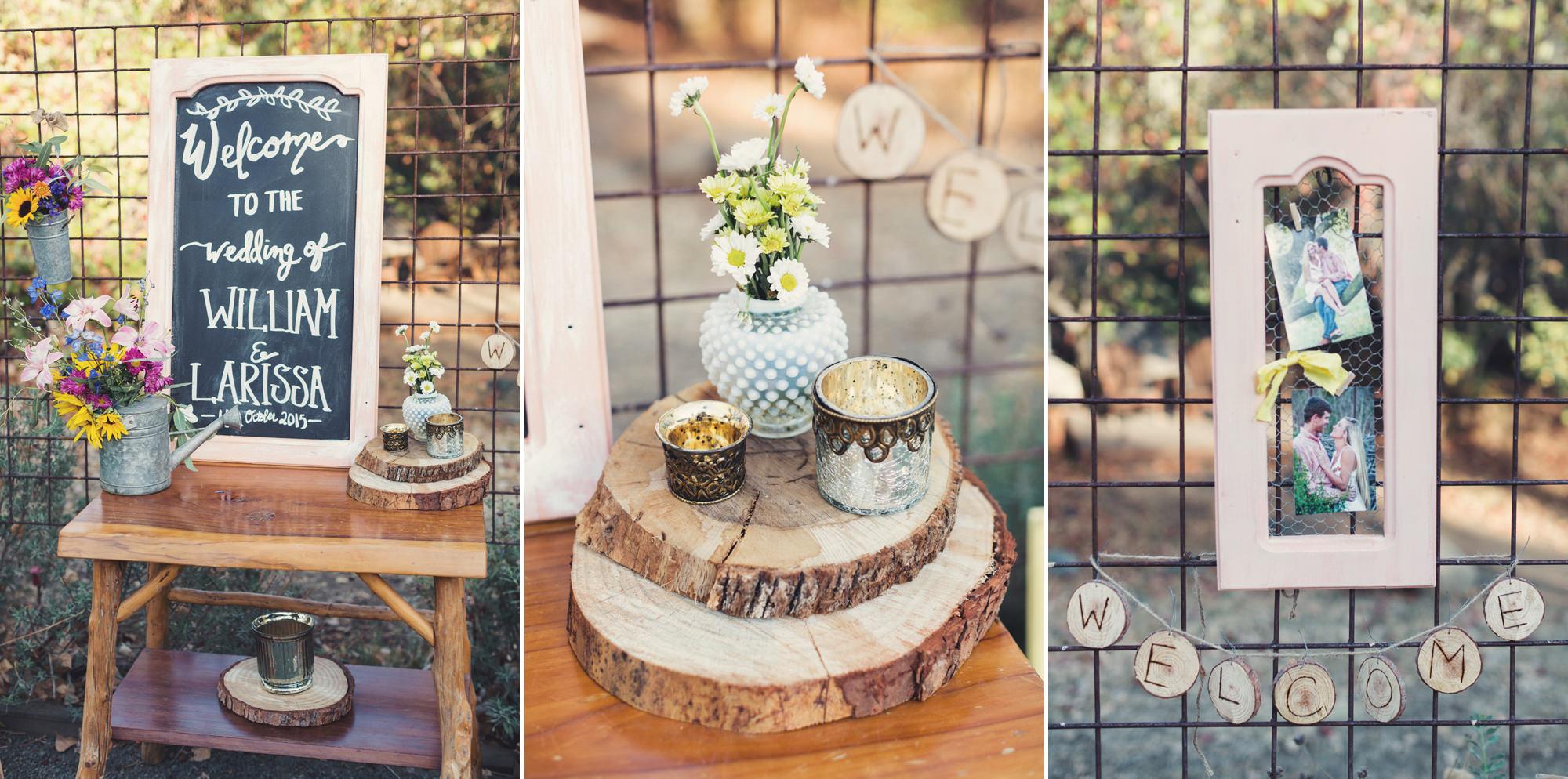 Rustic wedding in California ©Anne-Claire Brun 59