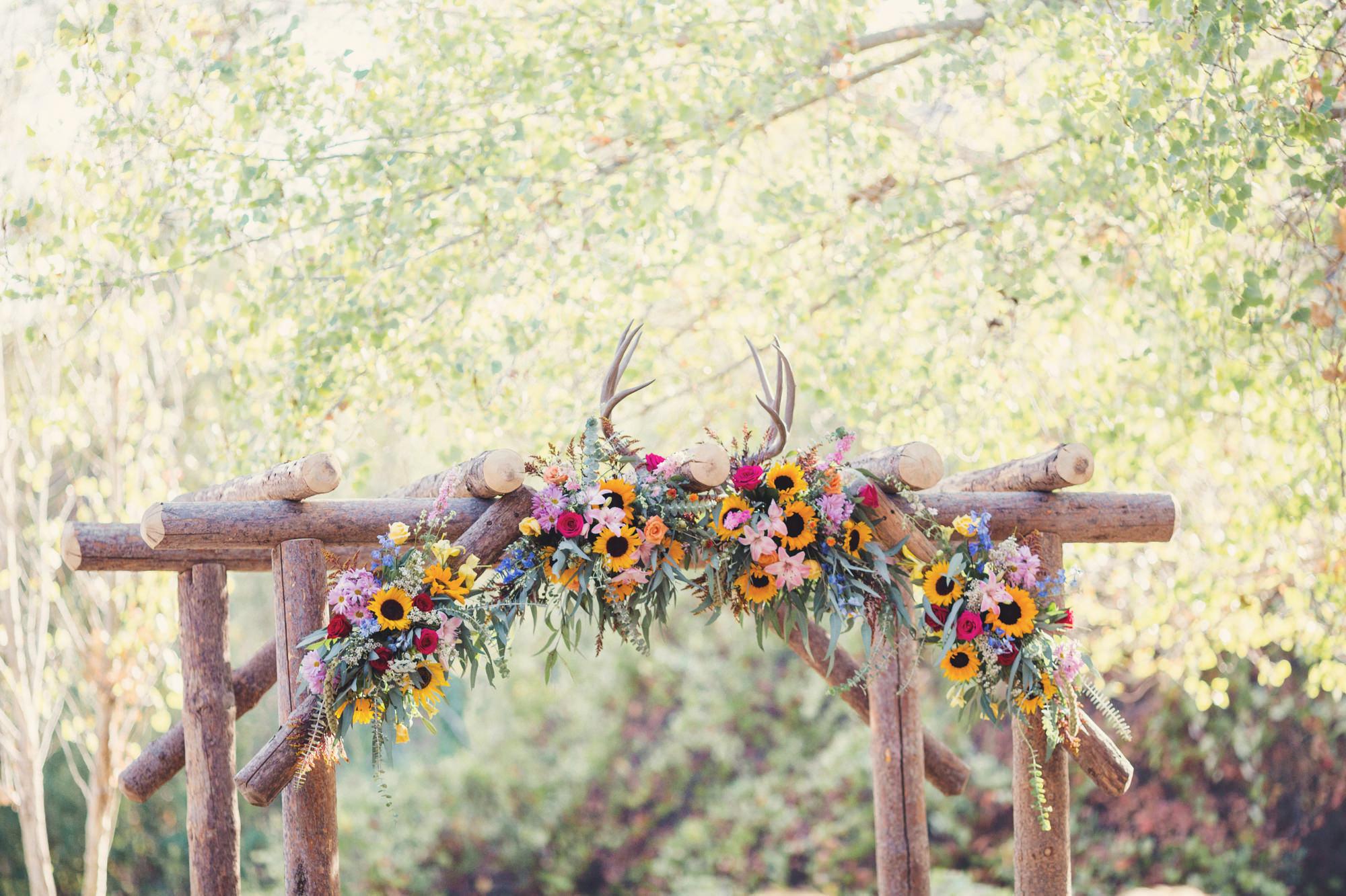 Rustic wedding in California ©Anne-Claire Brun 63