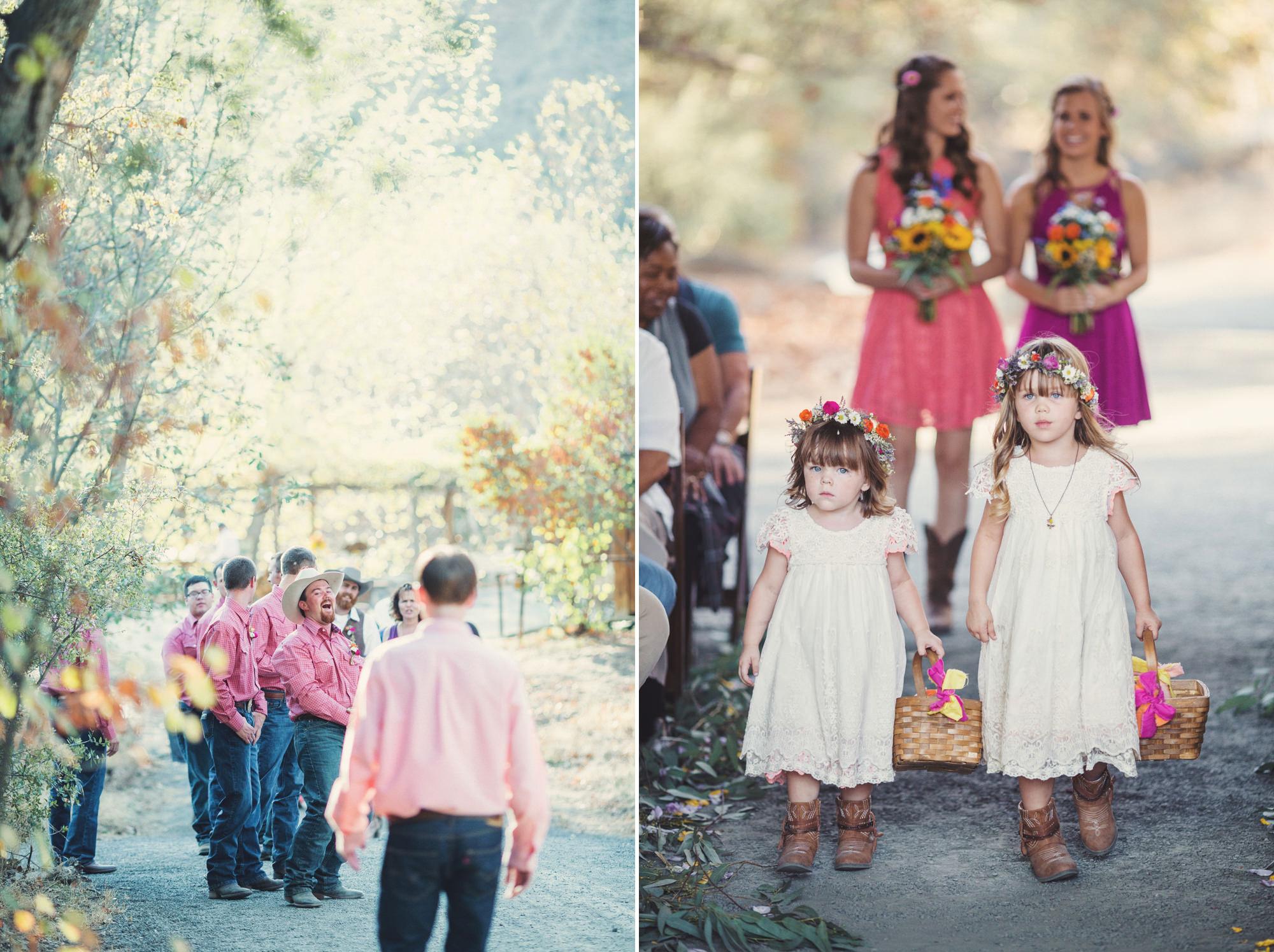 Rustic wedding in California ©Anne-Claire Brun 66
