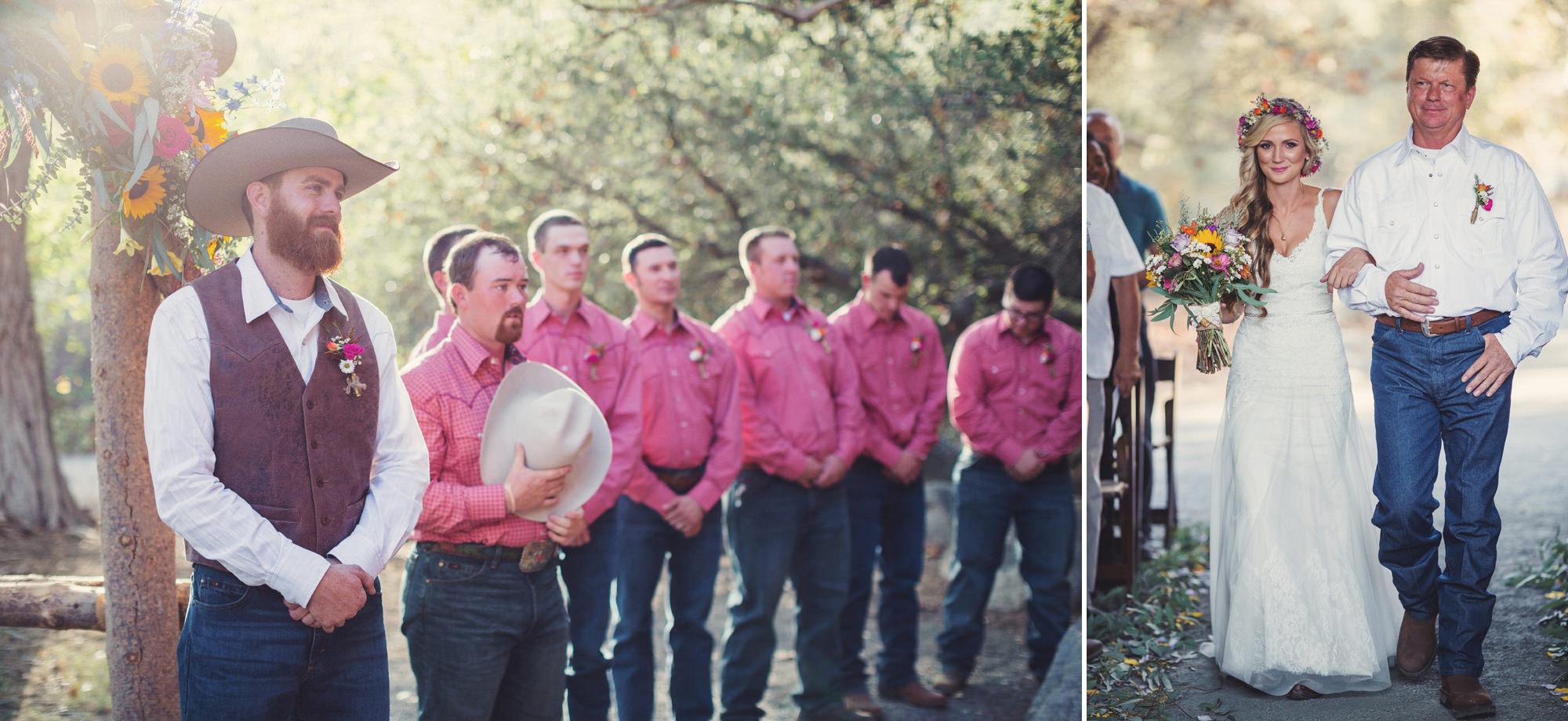 Rustic wedding in California ©Anne-Claire Brun 68