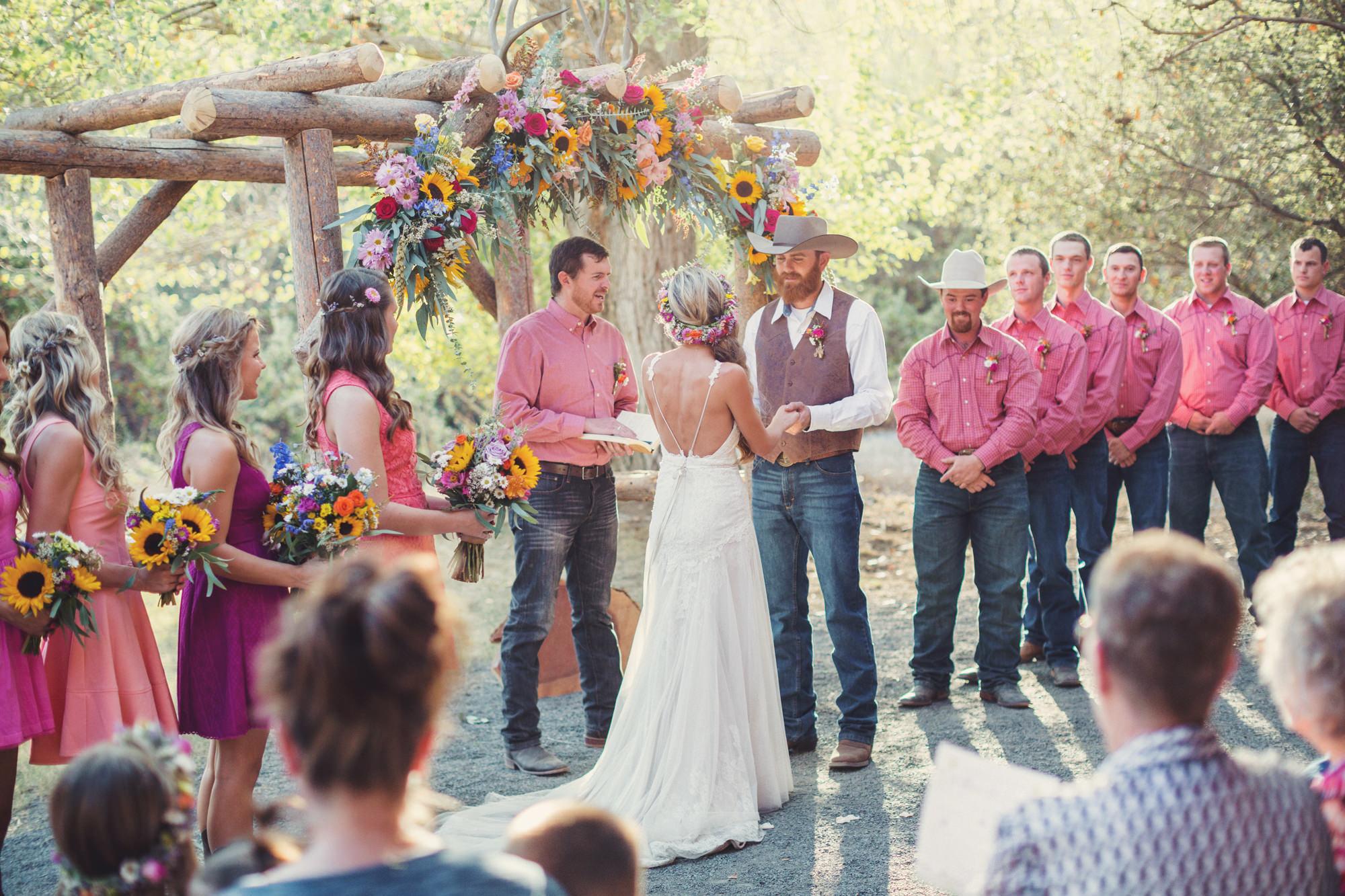 Rustic wedding in California ©Anne-Claire Brun 70