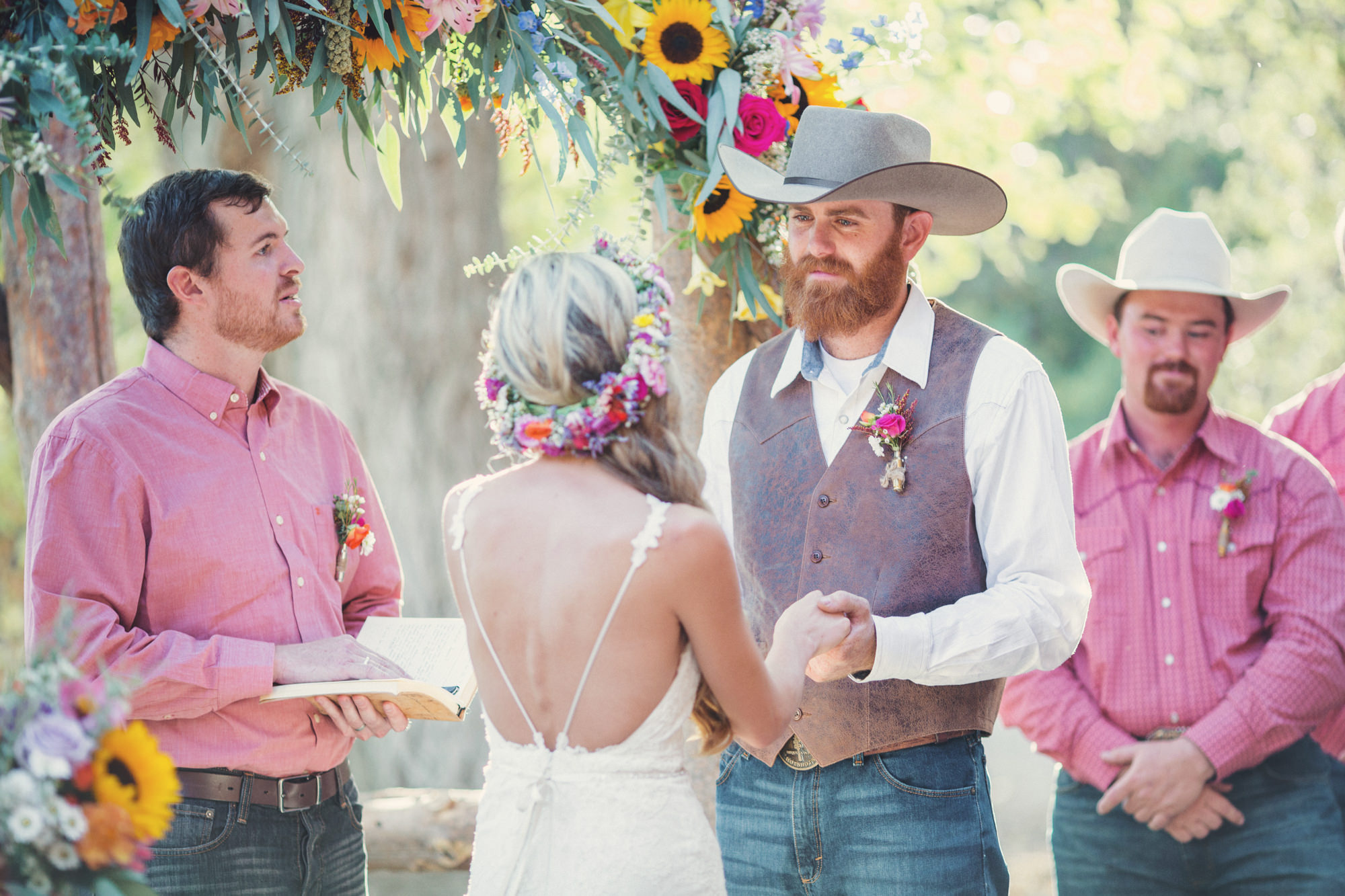 Rustic wedding in California ©Anne-Claire Brun 71