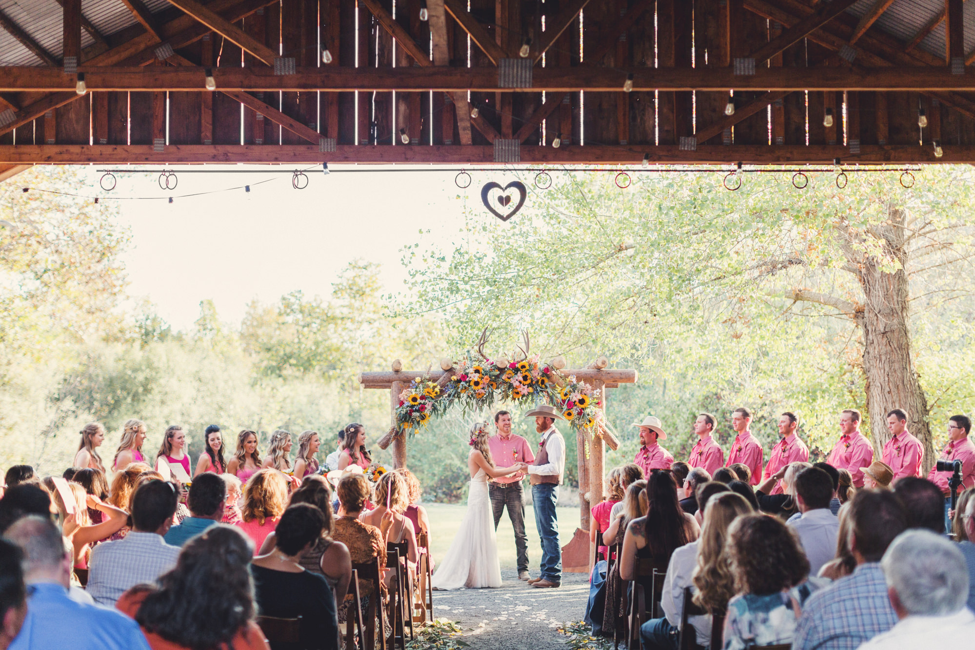 Rustic wedding in California ©Anne-Claire Brun 72