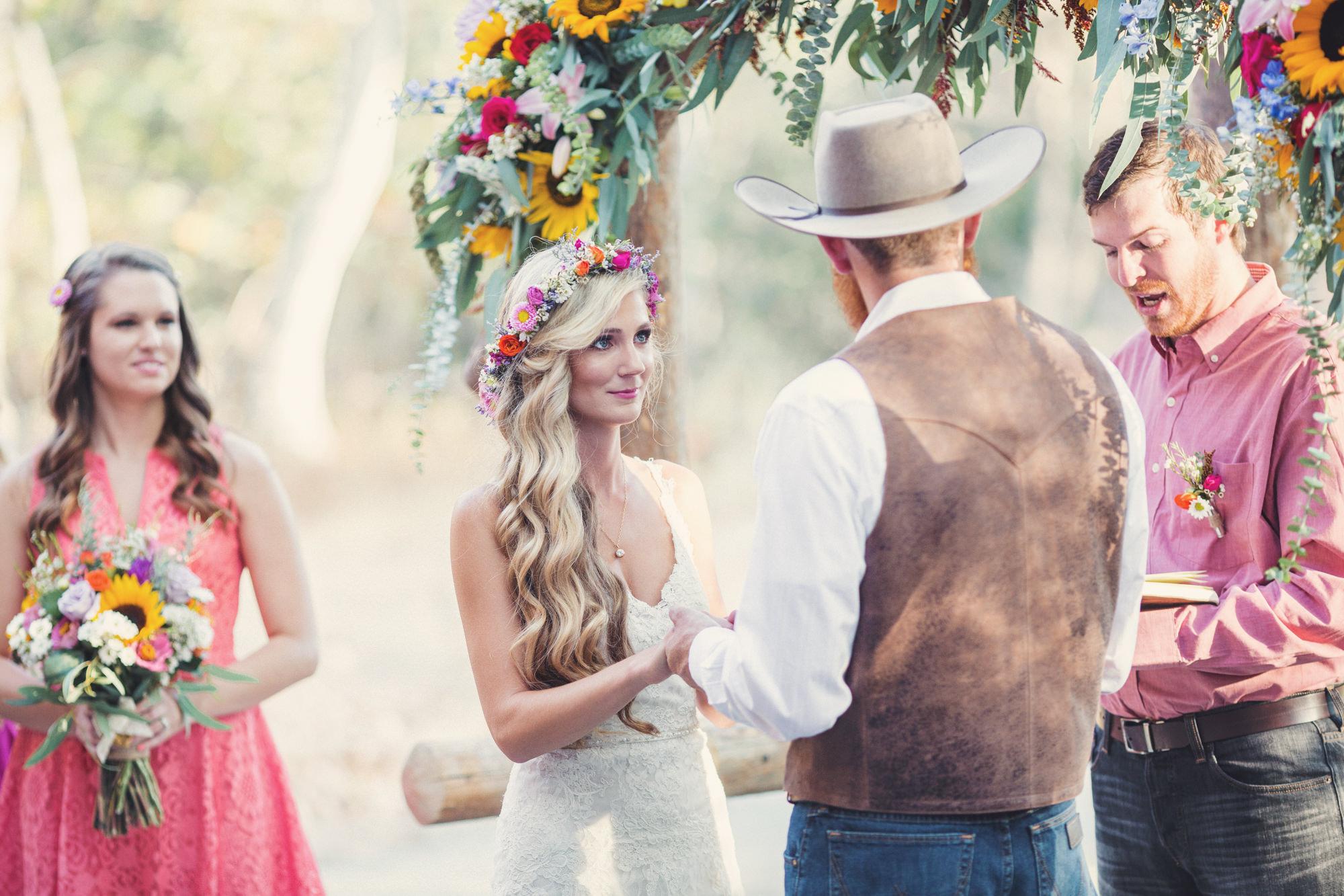 Rustic wedding in California ©Anne-Claire Brun 74