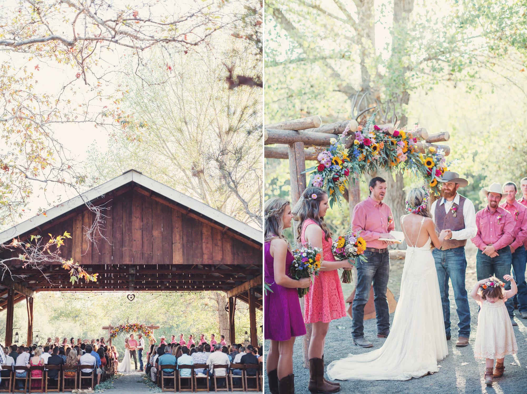 Rustic wedding in California ©Anne-Claire Brun 75