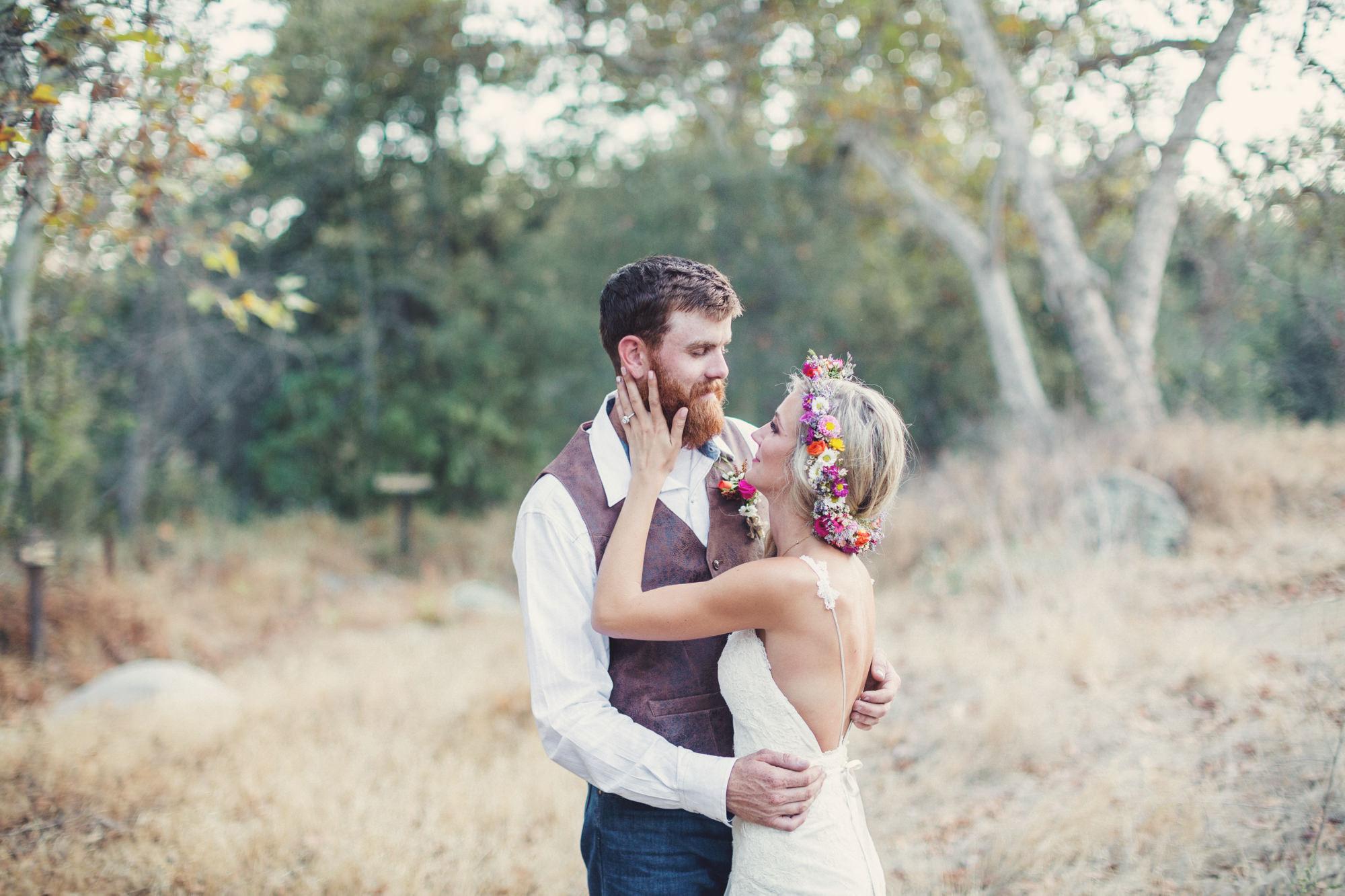 Rustic wedding in California ©Anne-Claire Brun 86