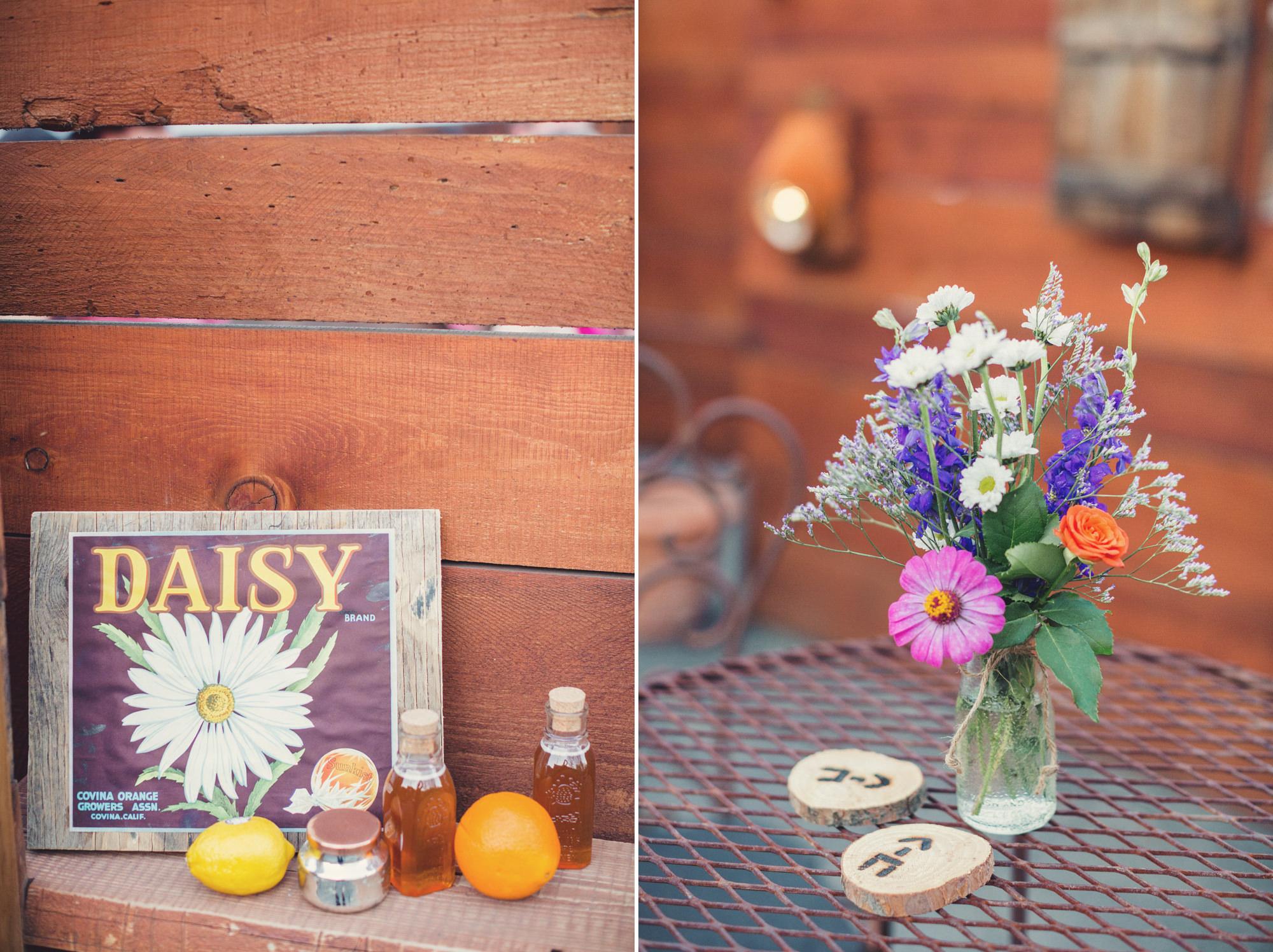 Rustic wedding in California ©Anne-Claire Brun 89