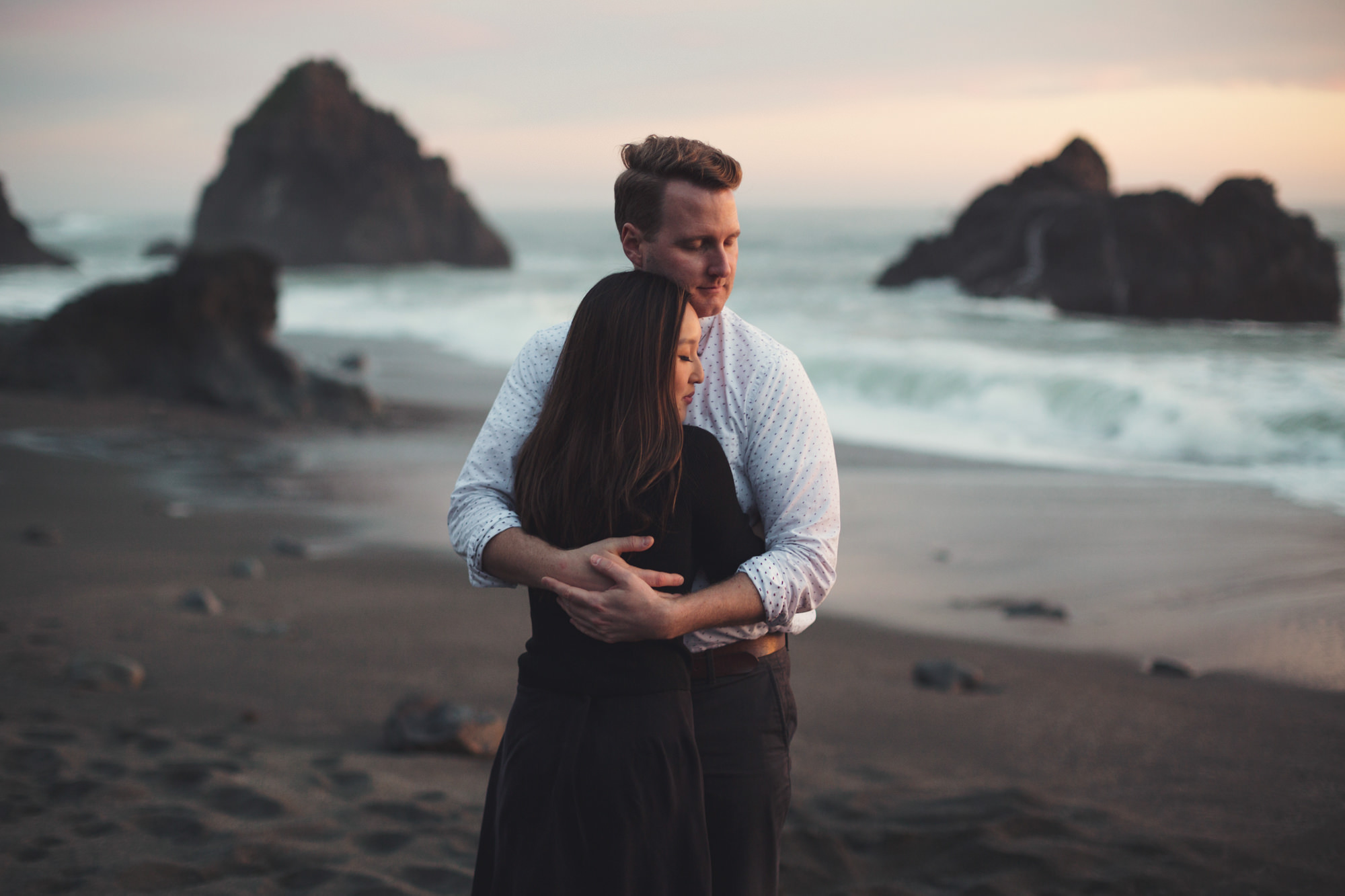 Engagement pictures in the Bay Area