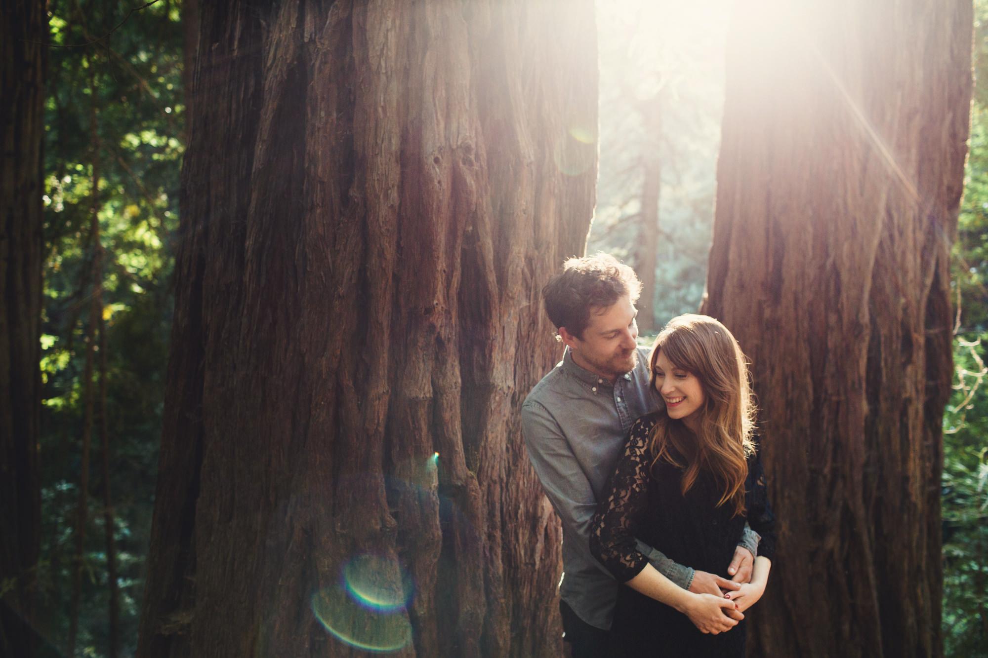 Muir Woods Couple Photos