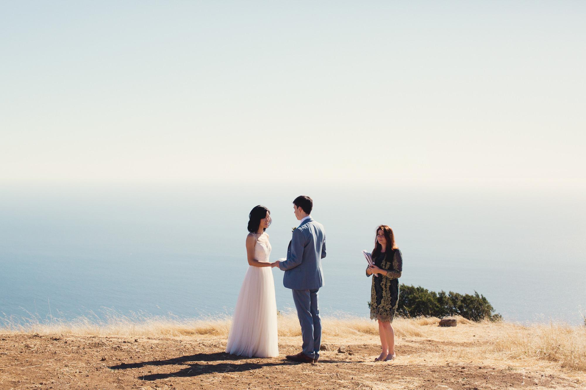 Wedding in Mount Tamalpais