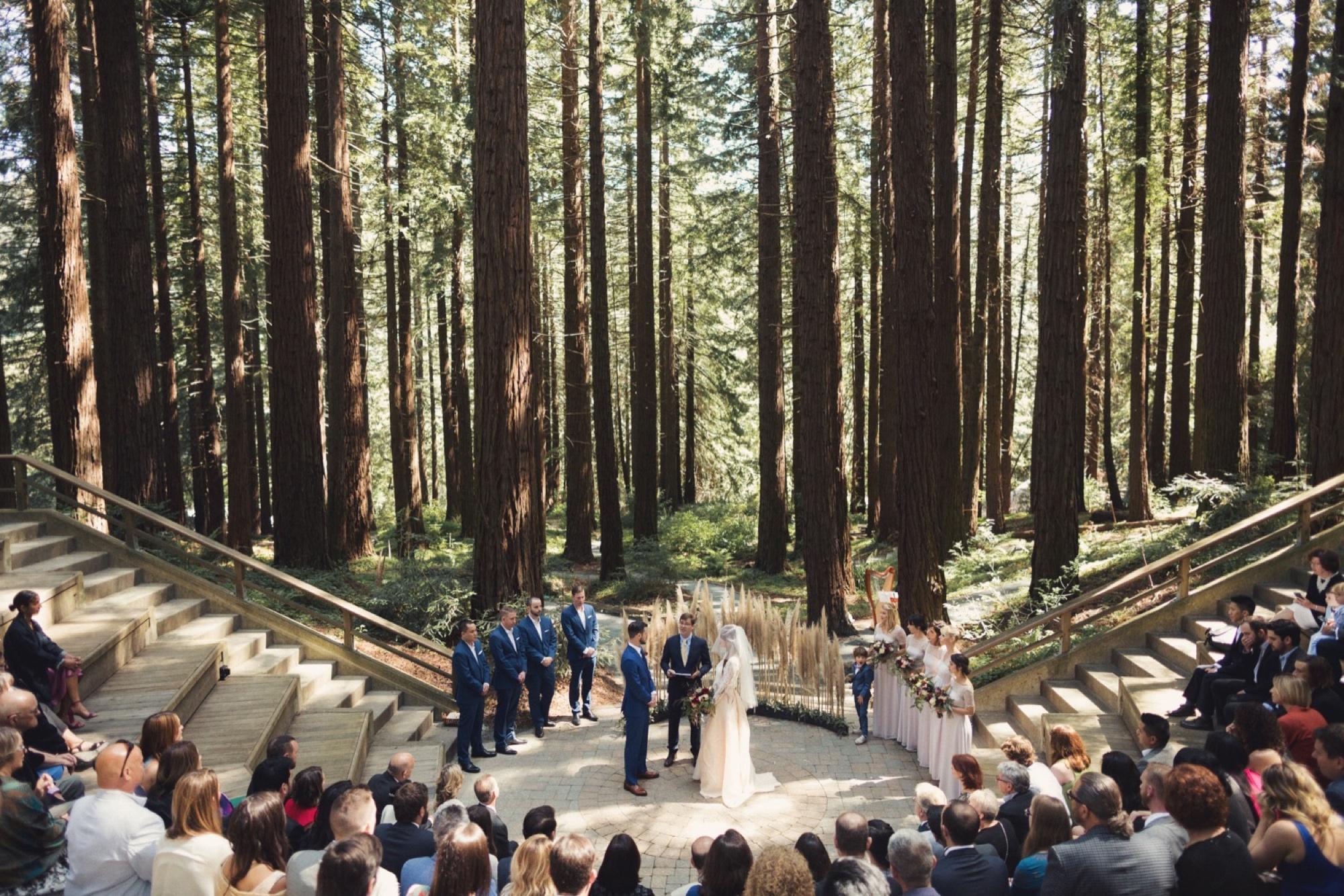 Berkeley UC Botanical Garden Wedding