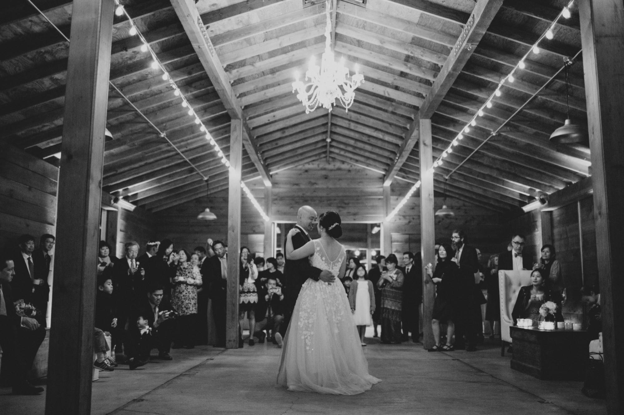 the barn at cornerstone wedding