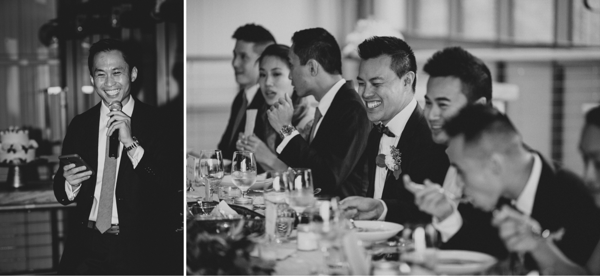 Reception Wedding black and white