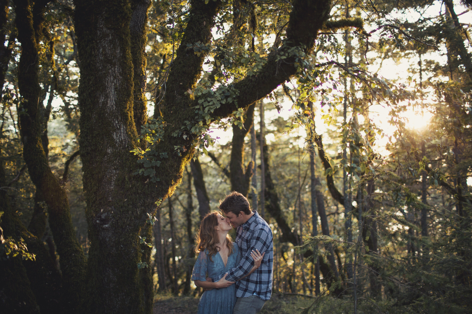 Wood Engagement Photos