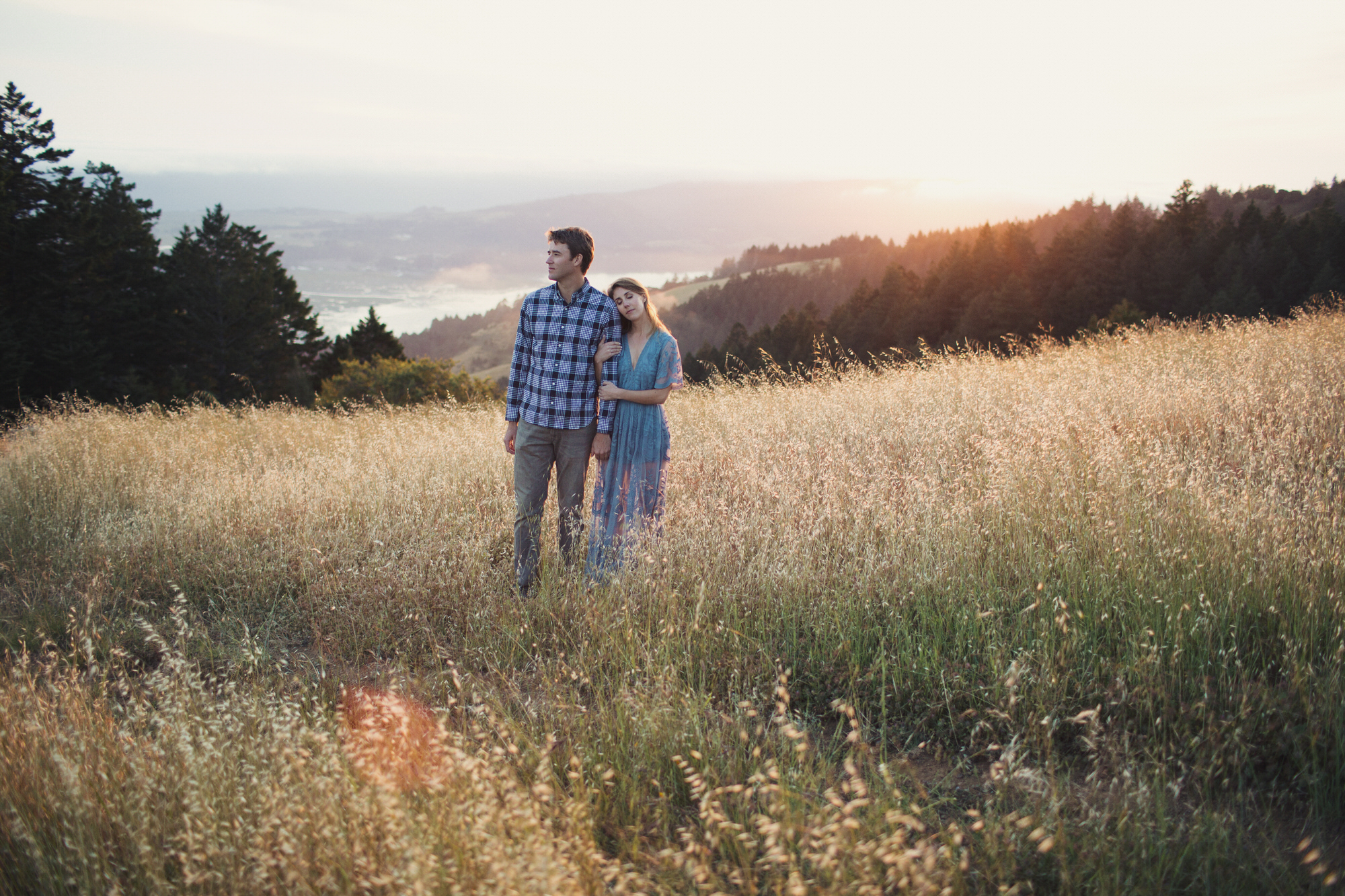 Mt Tamalpais Engagement Photos