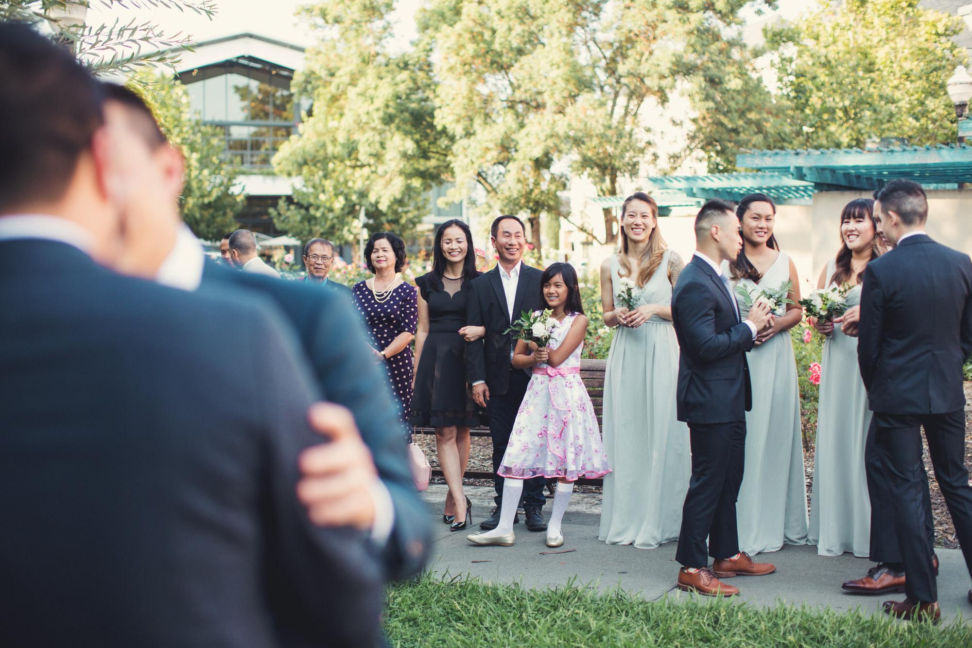 Candid wedding photographer bay area napa valley