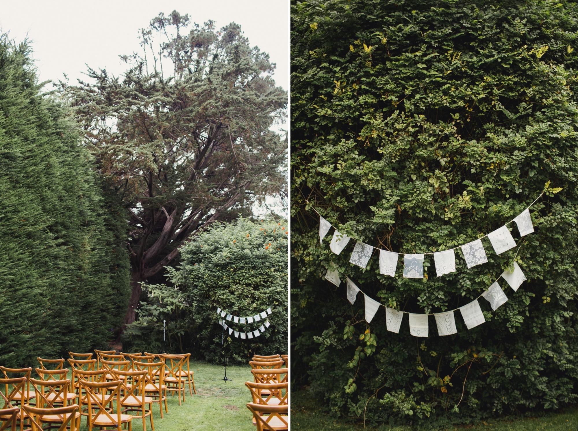 backyard wedding bolinas