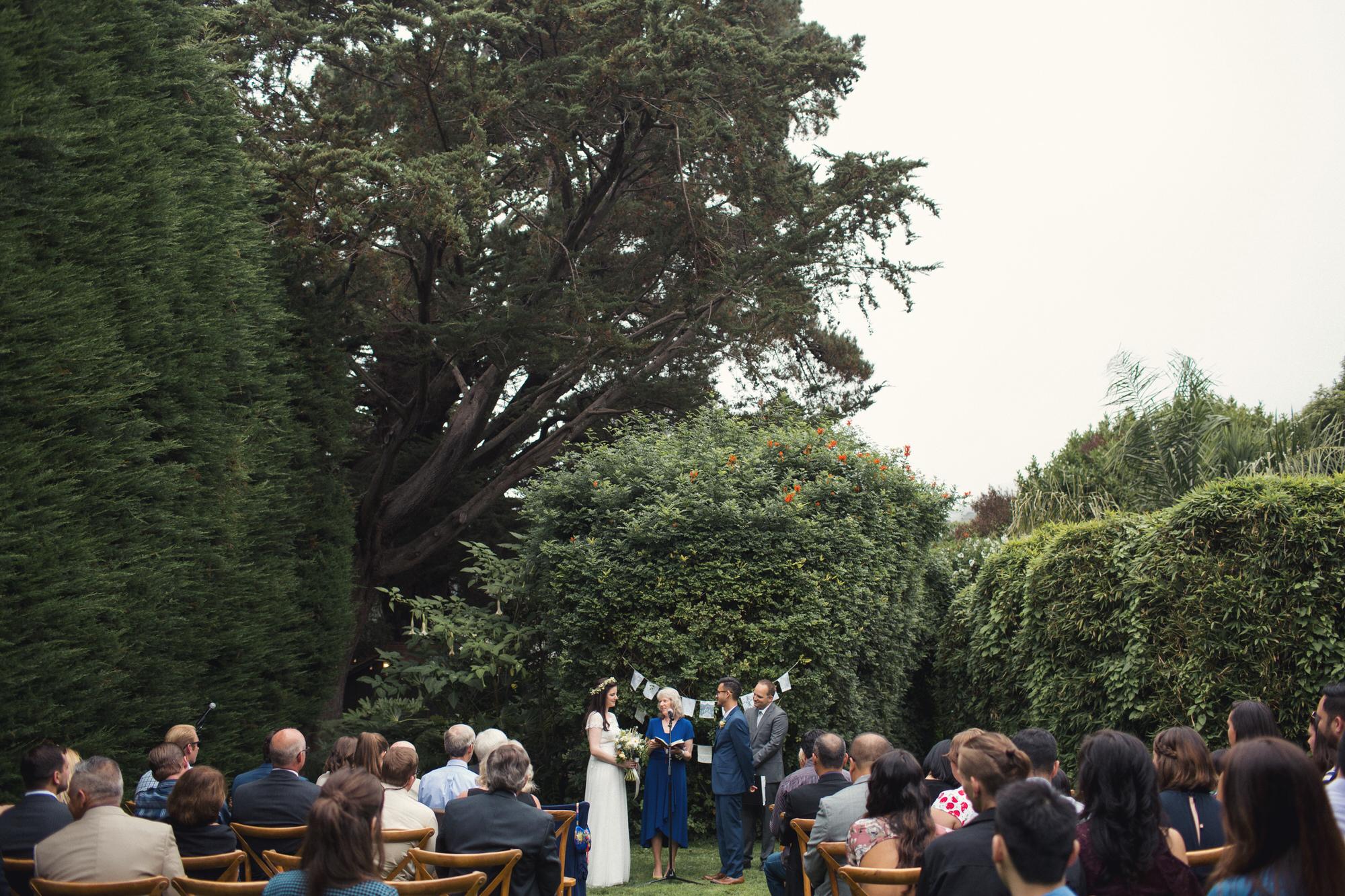 backyard wedding bay area