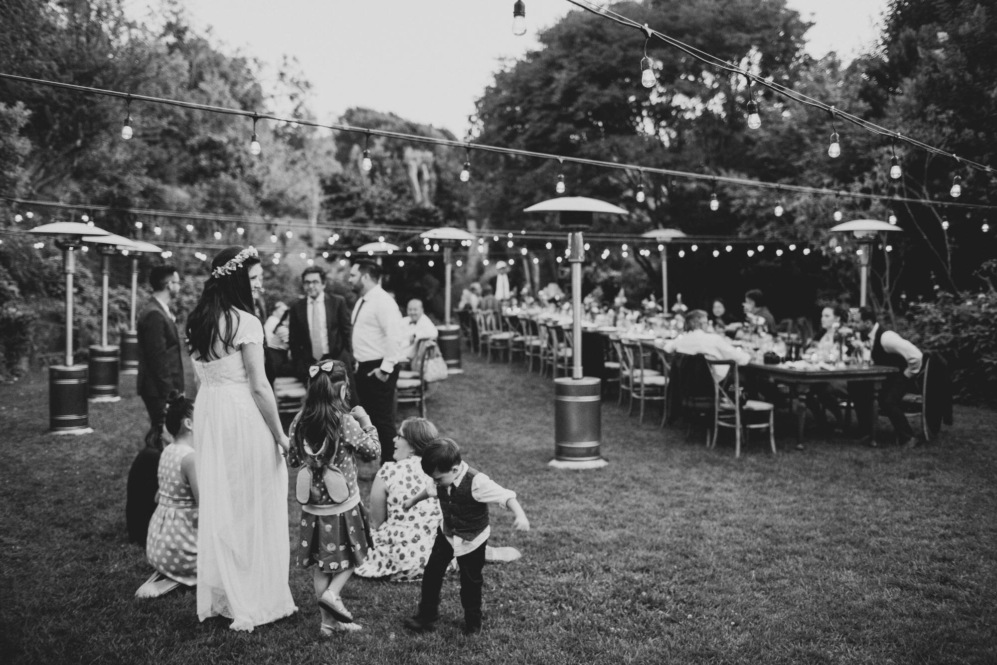 bay area backyard wedding
