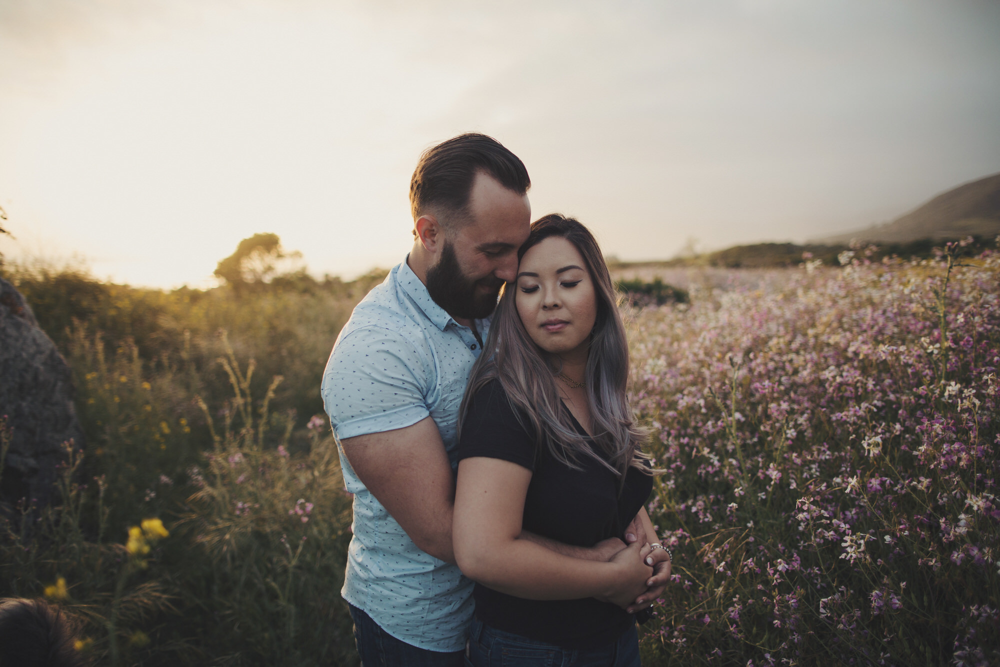 Spring engagement photos