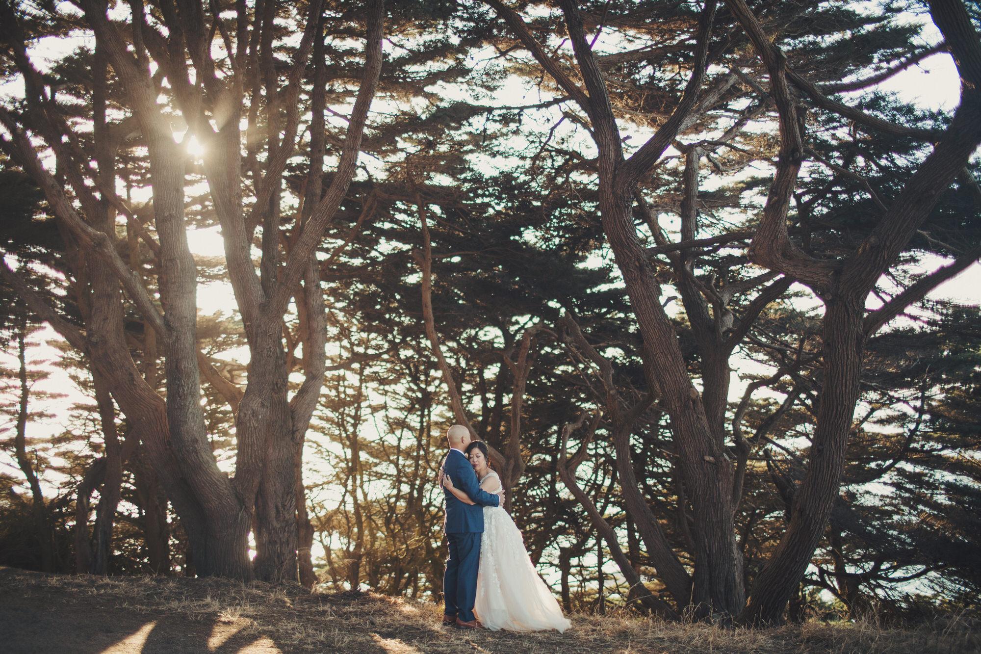 Golden Gate Park engagement photos