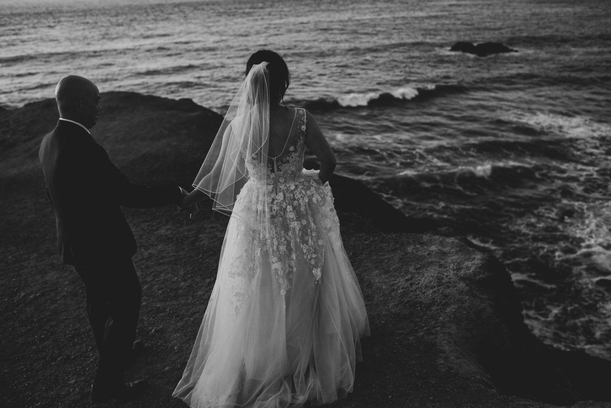 Day after session / trash the dress beach
