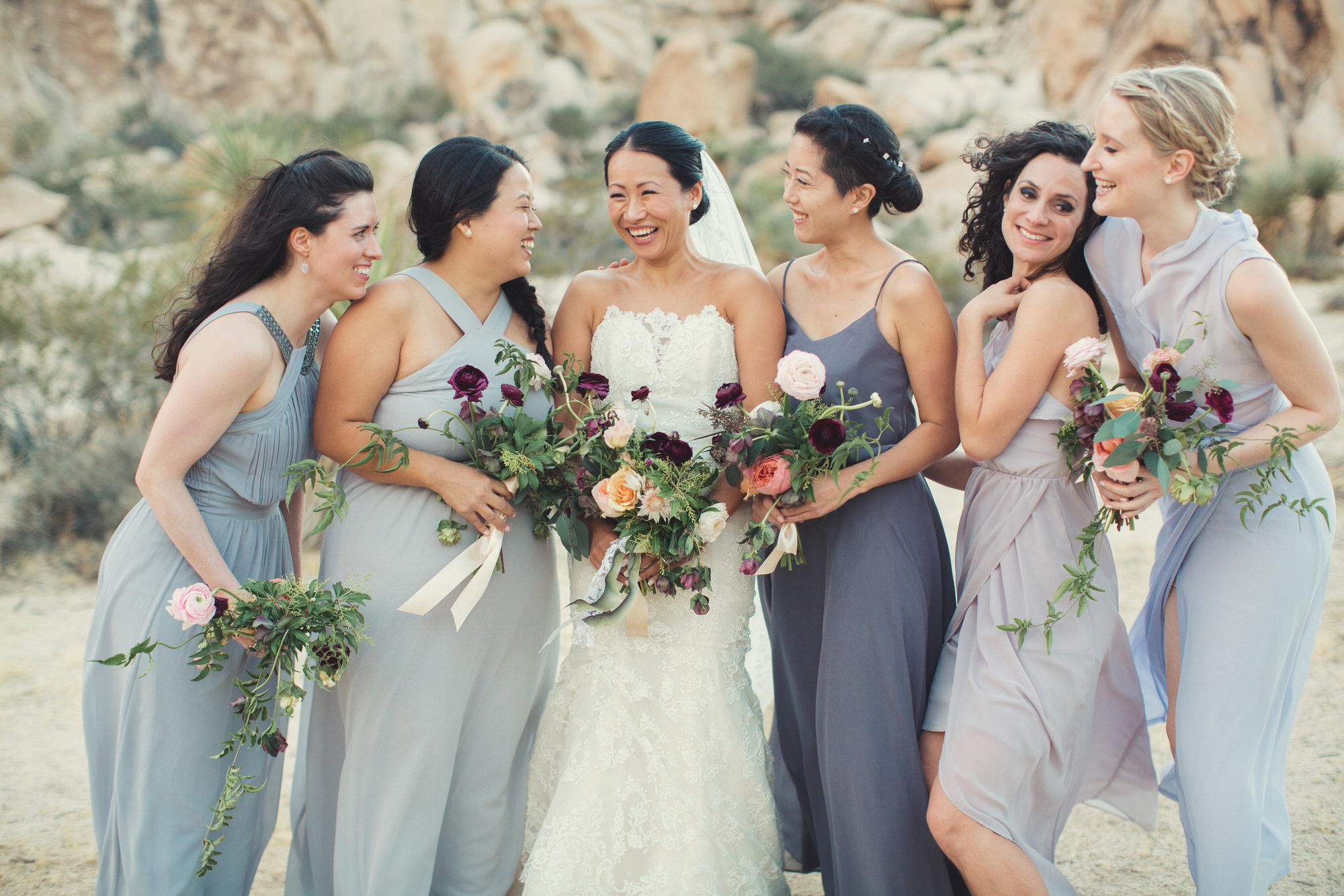 bridal party desert
