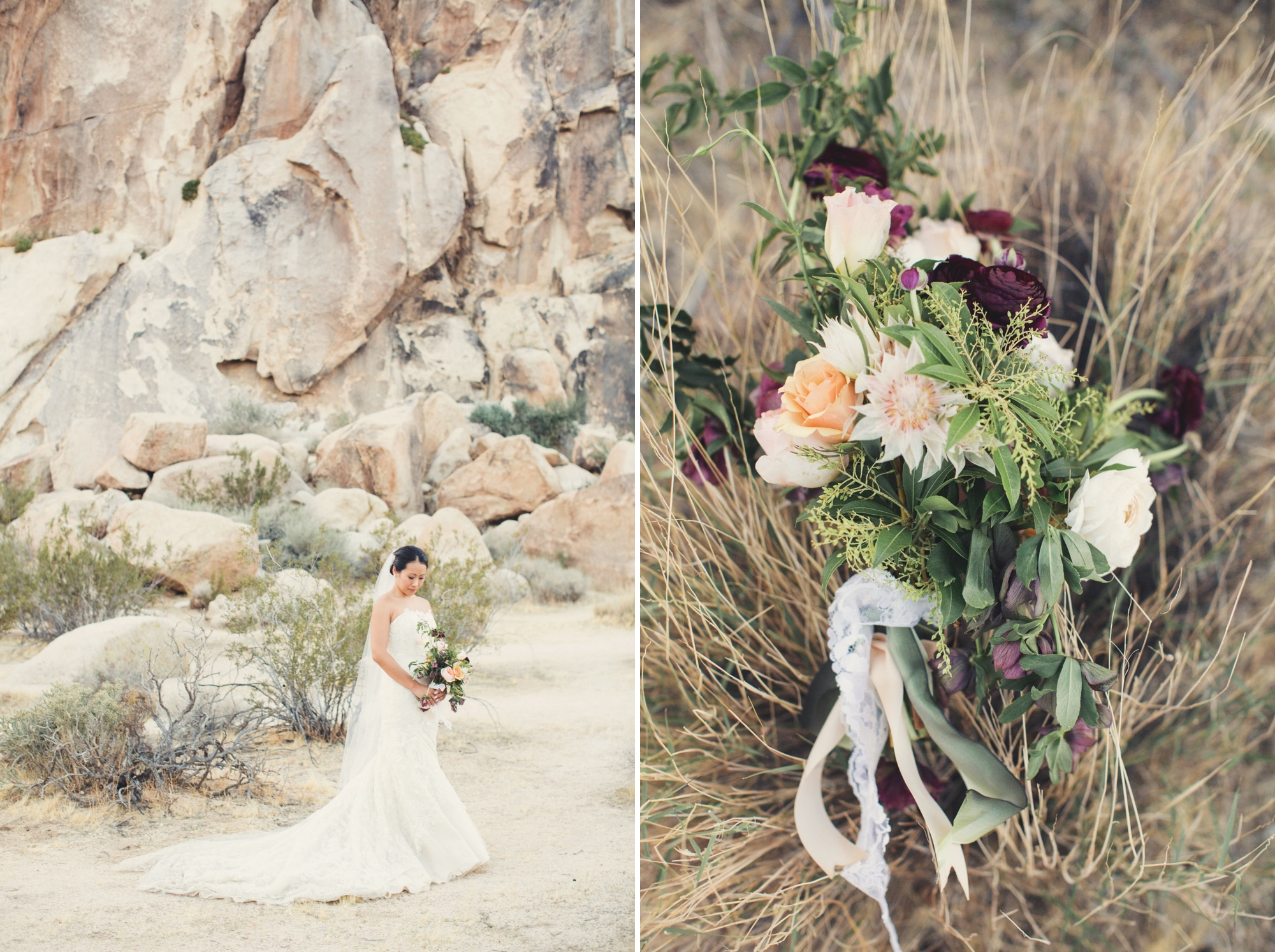 mojave desert wedding