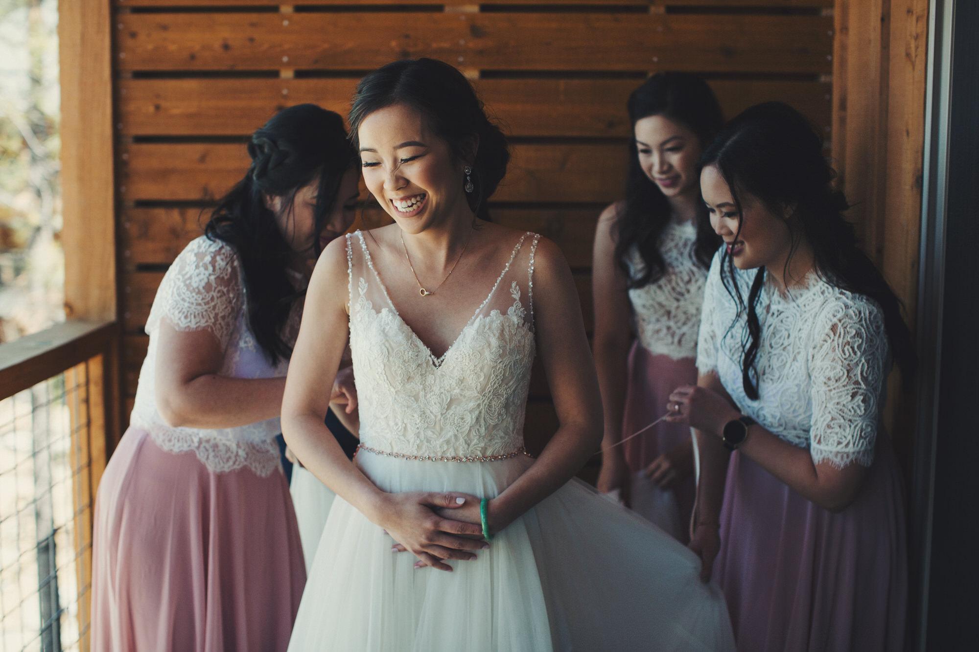 bride yosemite