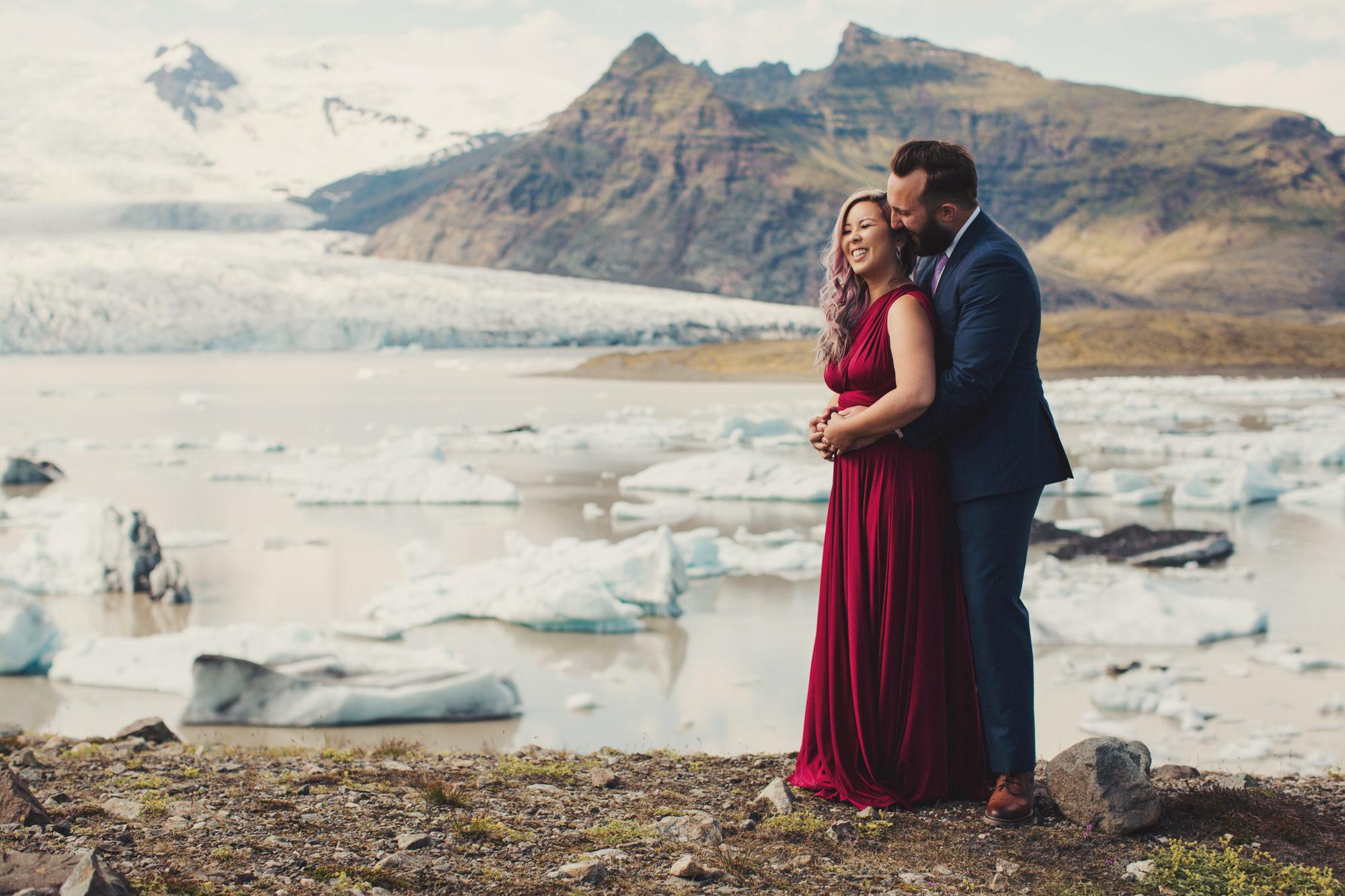 Jökulsárlón glacier lagoon photographer