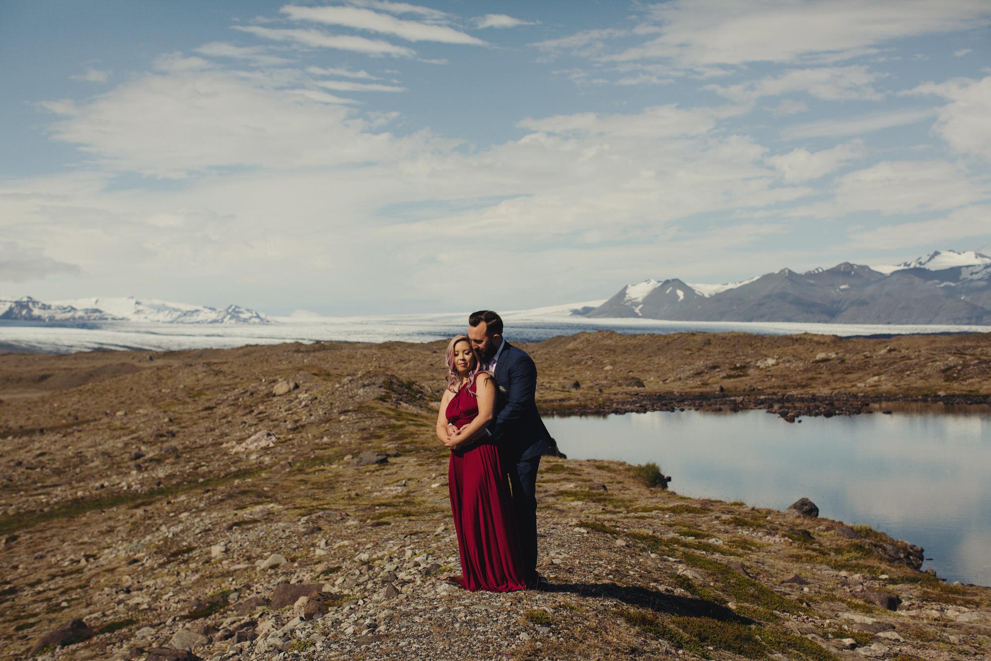 iceland wedding elopement photographer ©Anne-Claire Brun