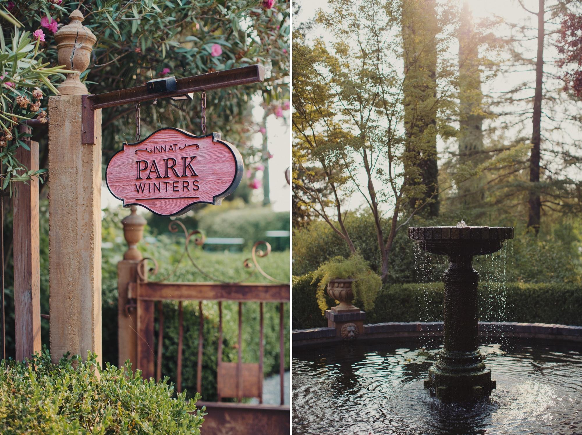 Park Winters Wedding Photographer
