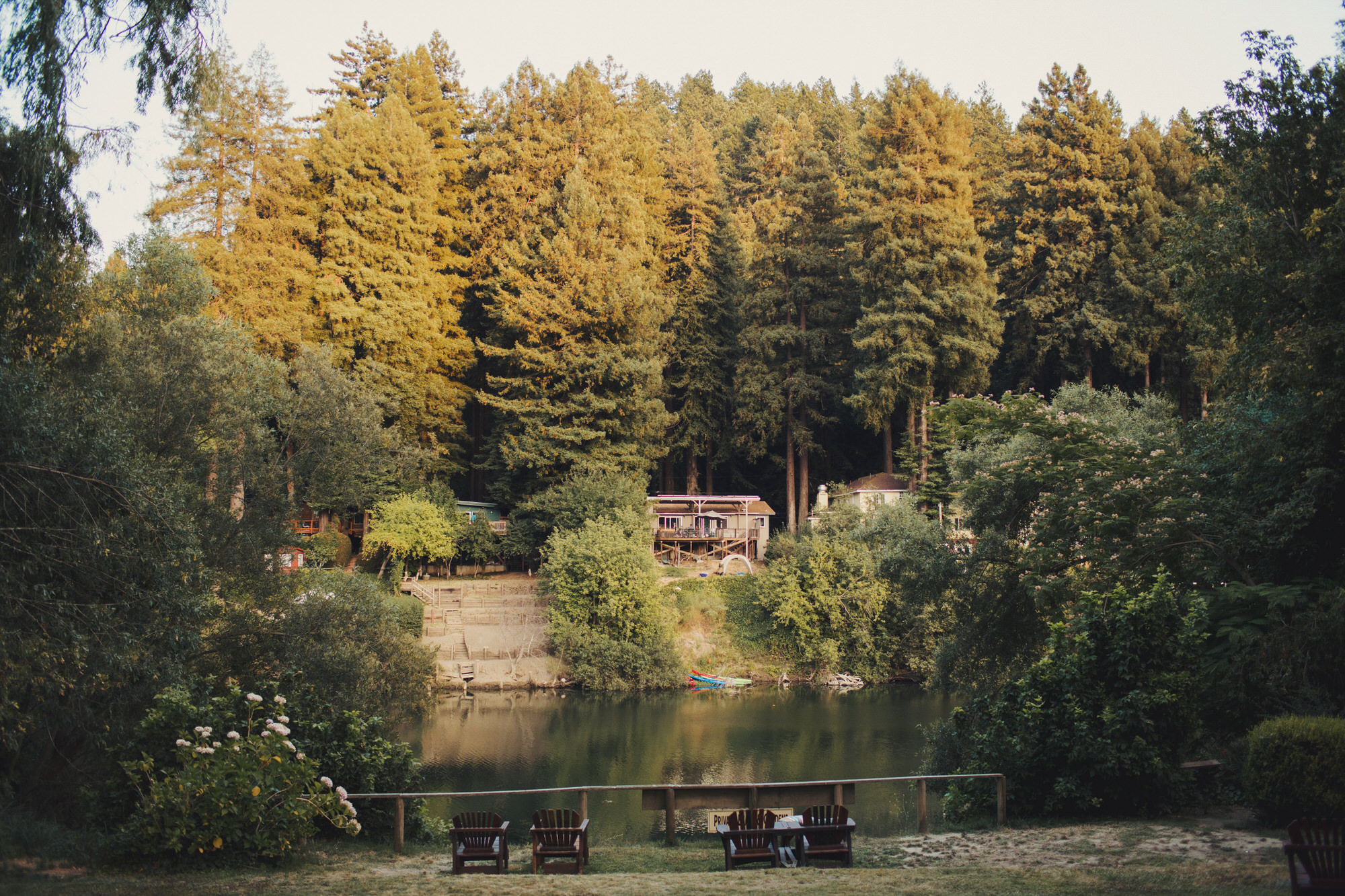 View from The Inn on the Russian River