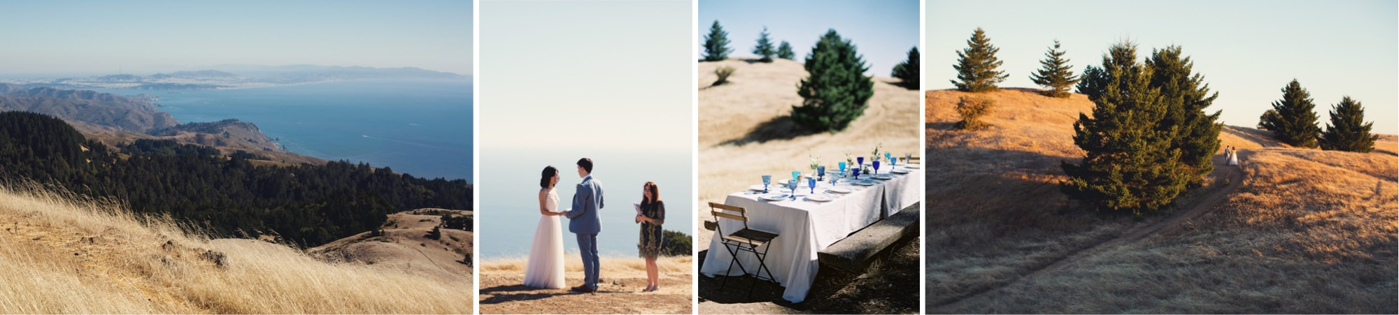 Mount Tam ceremony photos