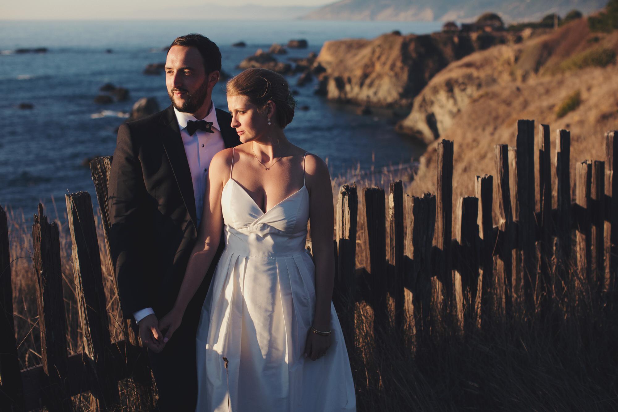 California Wedding on the pacific ocean