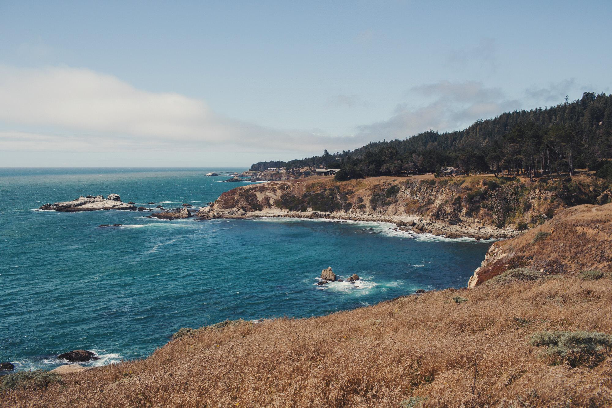 Fort bragg coast